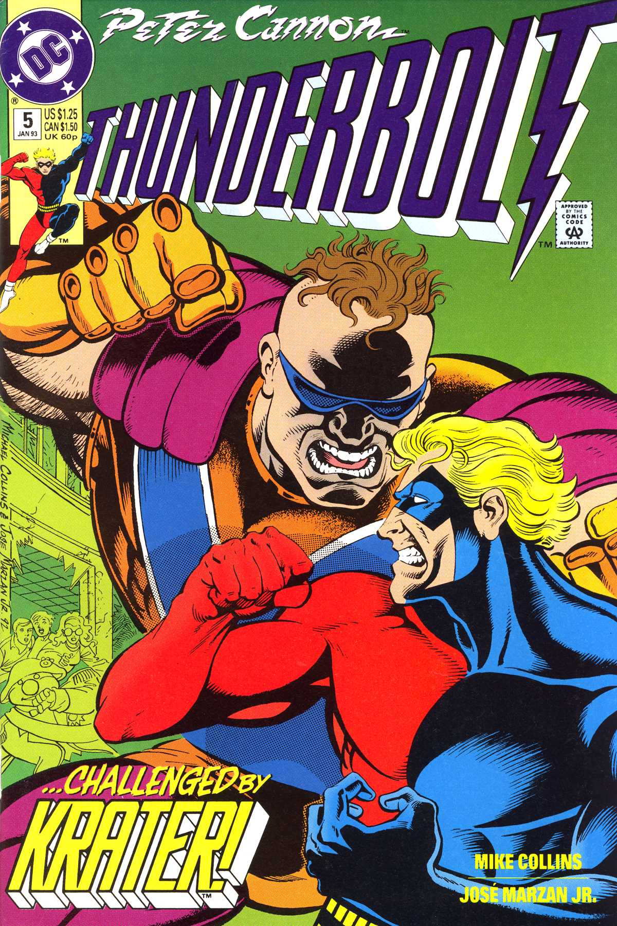 Read online Peter Cannon--Thunderbolt (1992) comic -  Issue #5 - 1