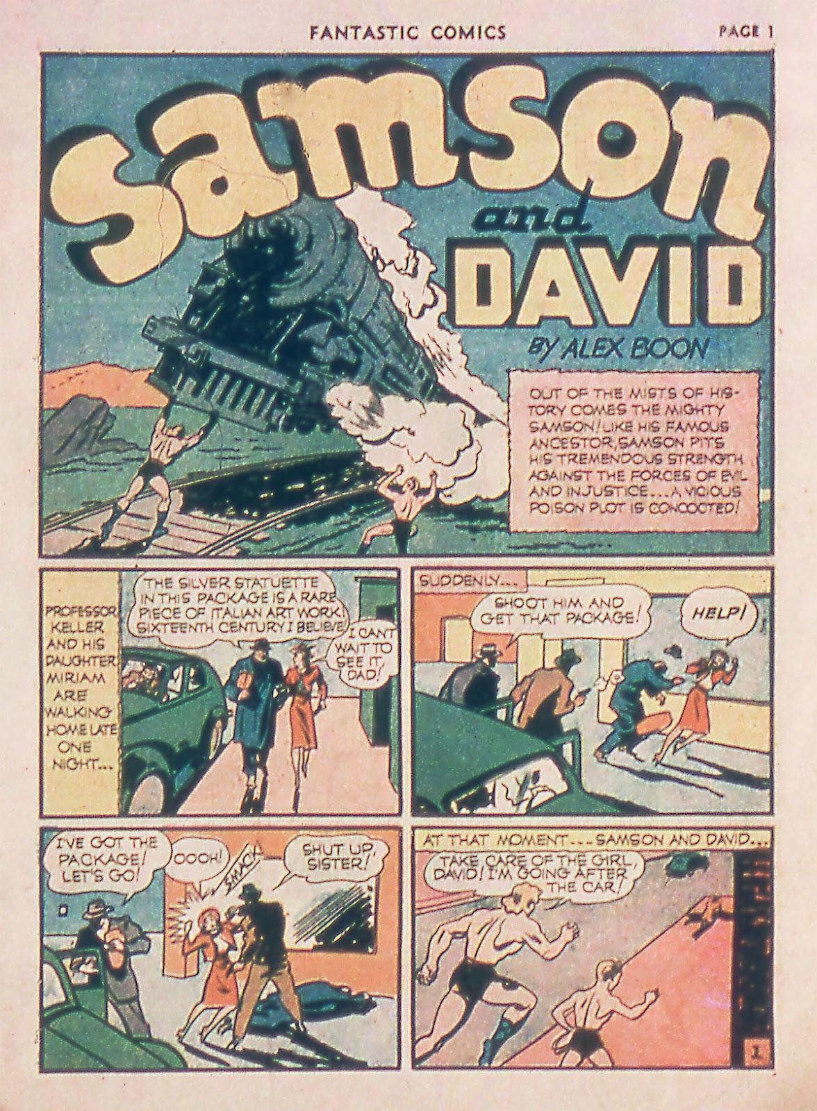Read online Fantastic Comics comic -  Issue #18 - 3