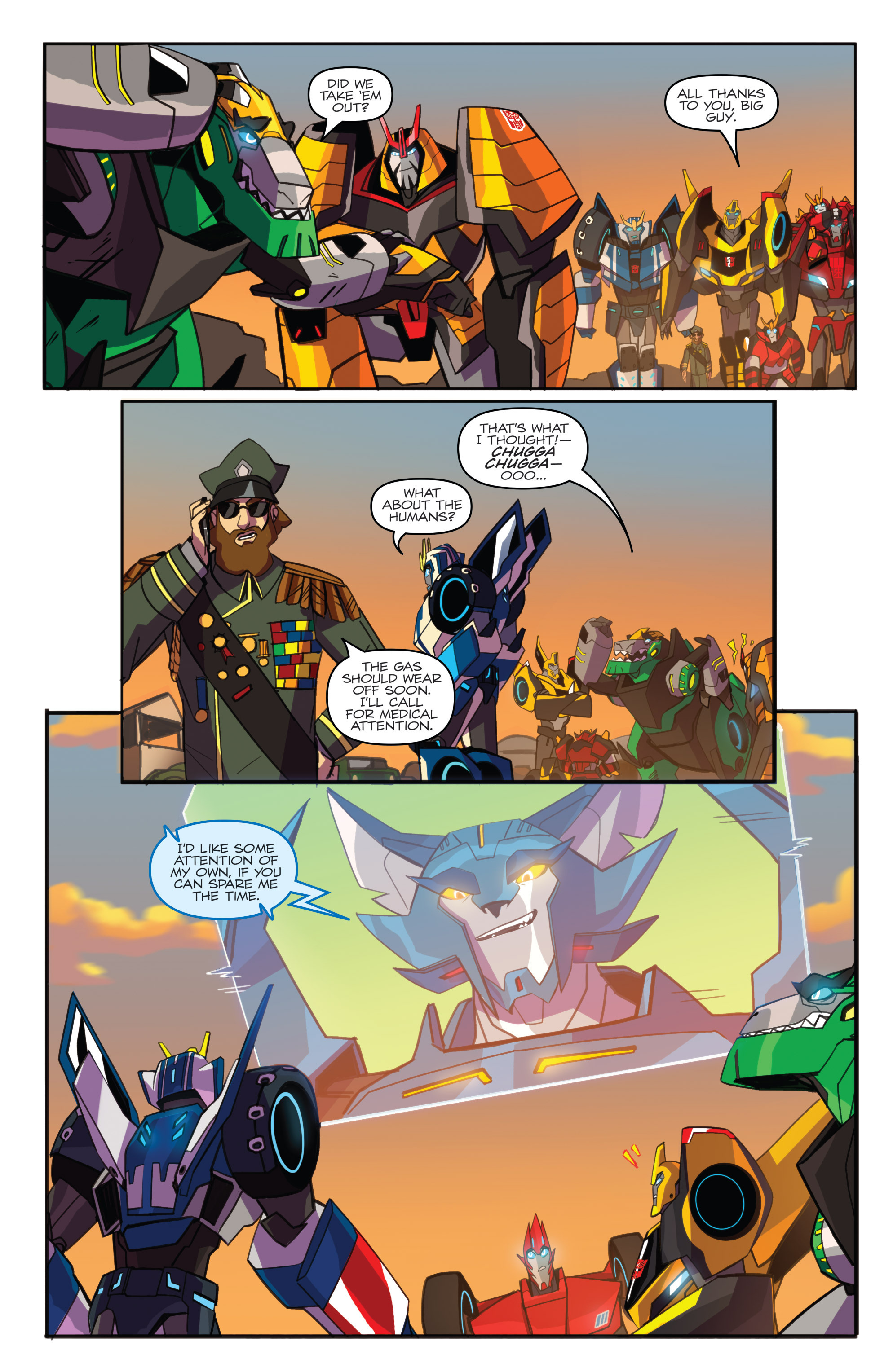 Read online Transformers: Robots In Disguise (2015) comic -  Issue #5 - 23
