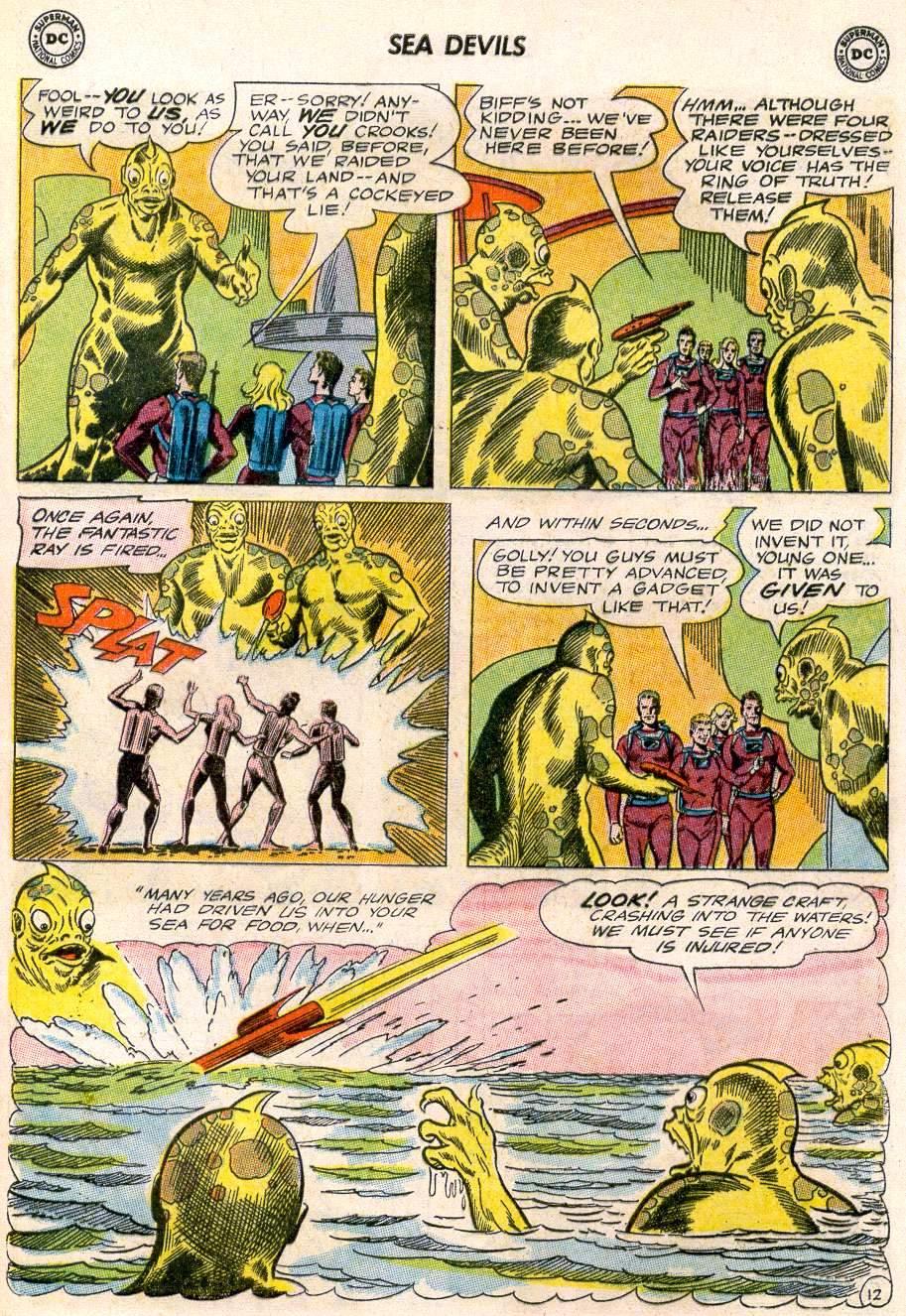 Read online Sea Devils comic -  Issue #20 - 17