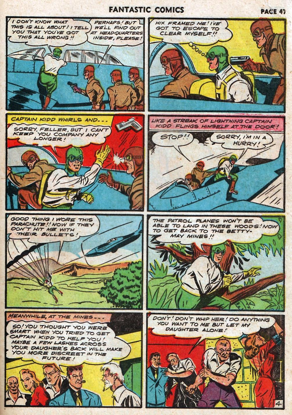 Read online Fantastic Comics comic -  Issue #17 - 48
