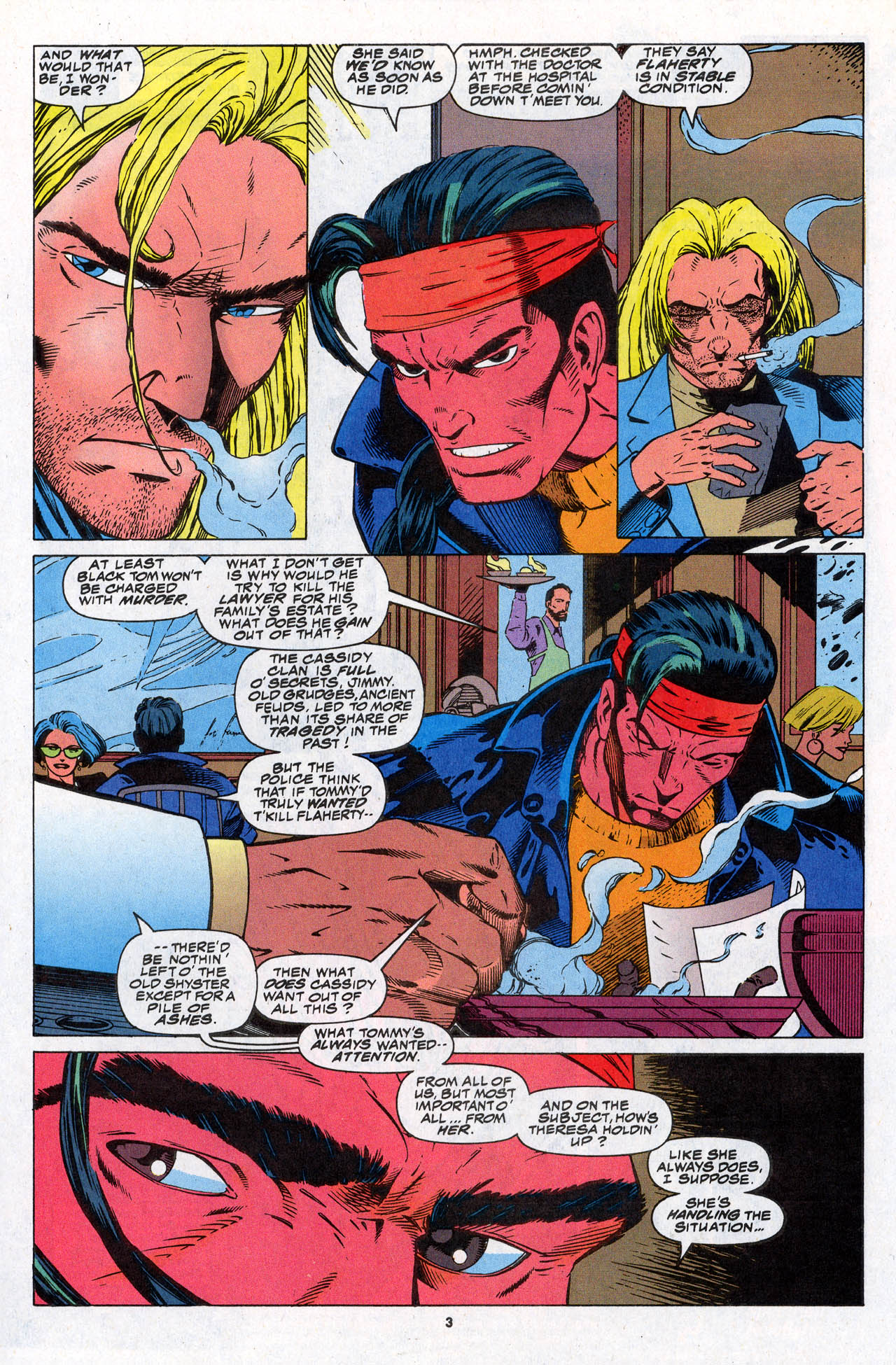 Read online X-Force (1991) comic -  Issue #31 - 5