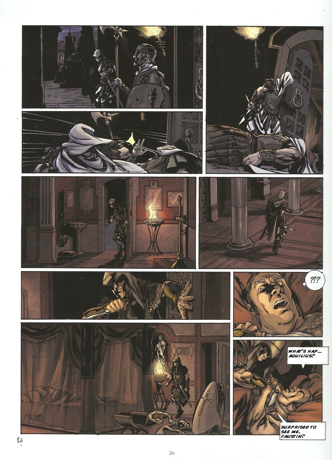 Read online Assassin's Creed (2009) comic -  Issue #2 - 26