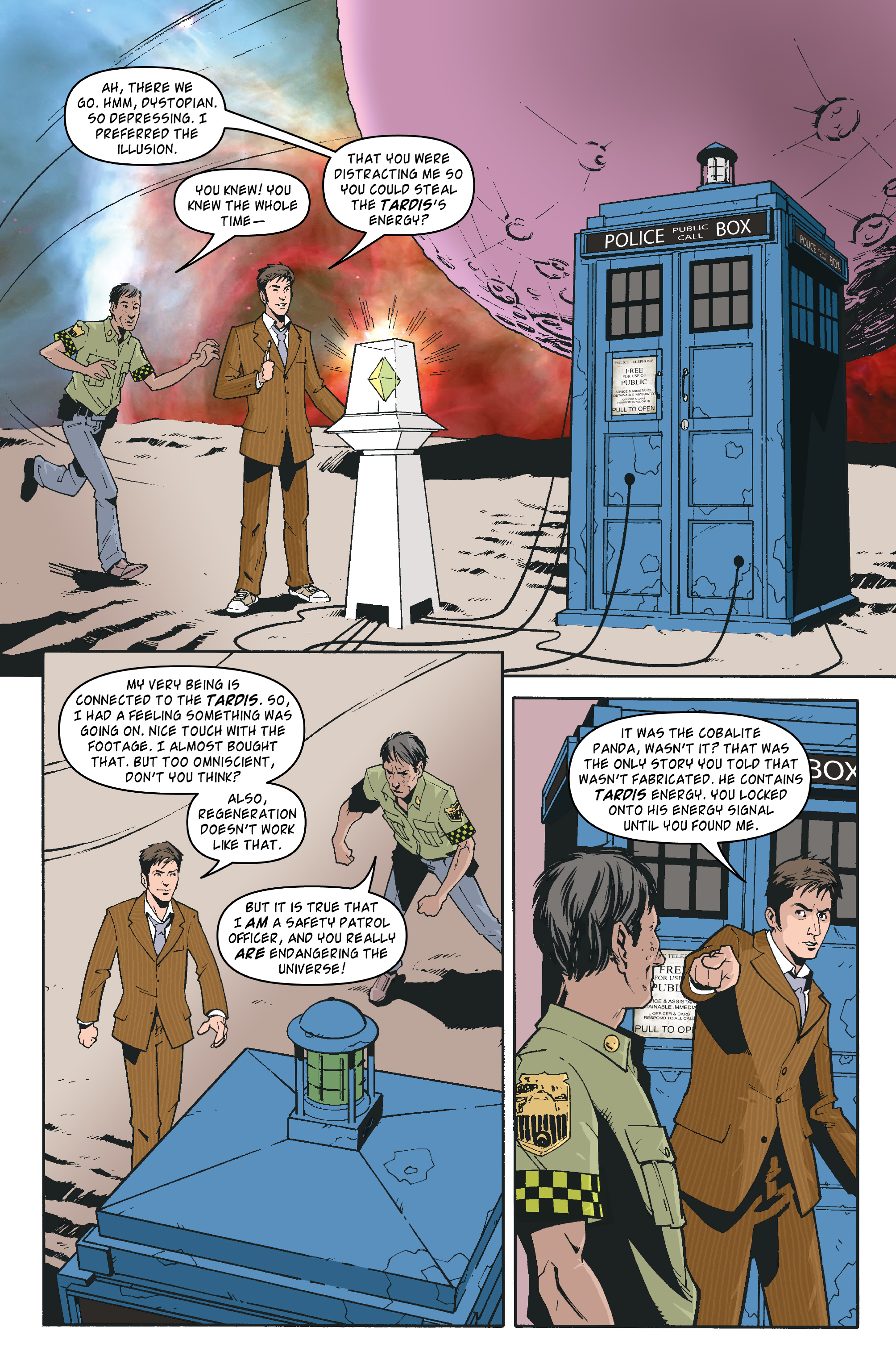 Read online Doctor Who: The Tenth Doctor Archives comic -  Issue #35 - 23