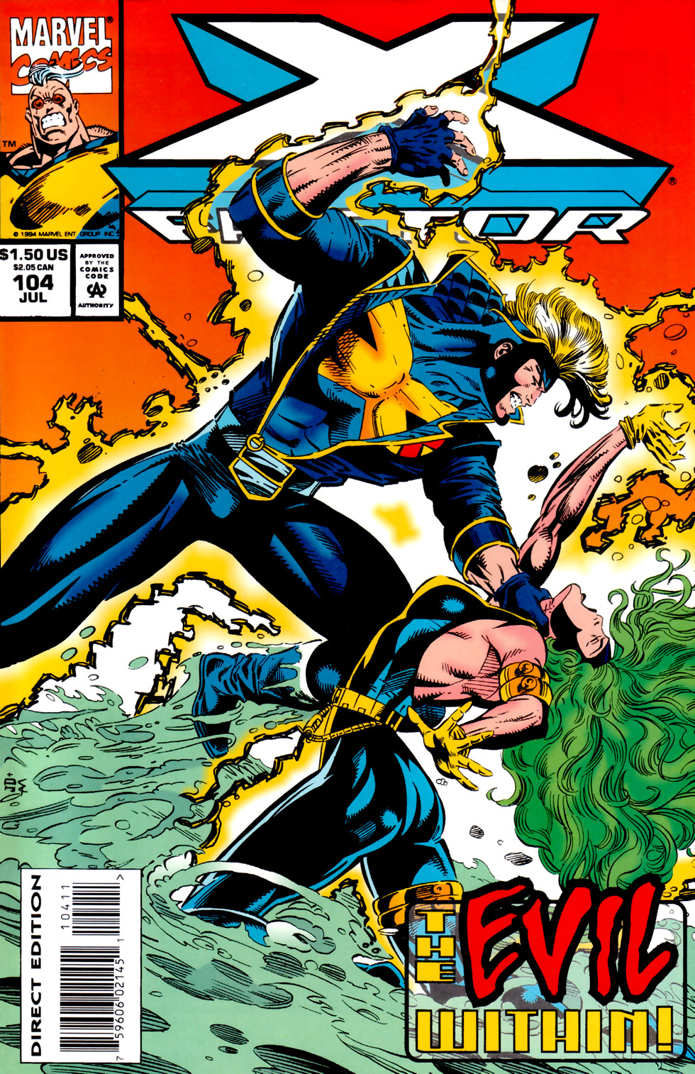 Read online X-Factor (1986) comic -  Issue #104 - 1