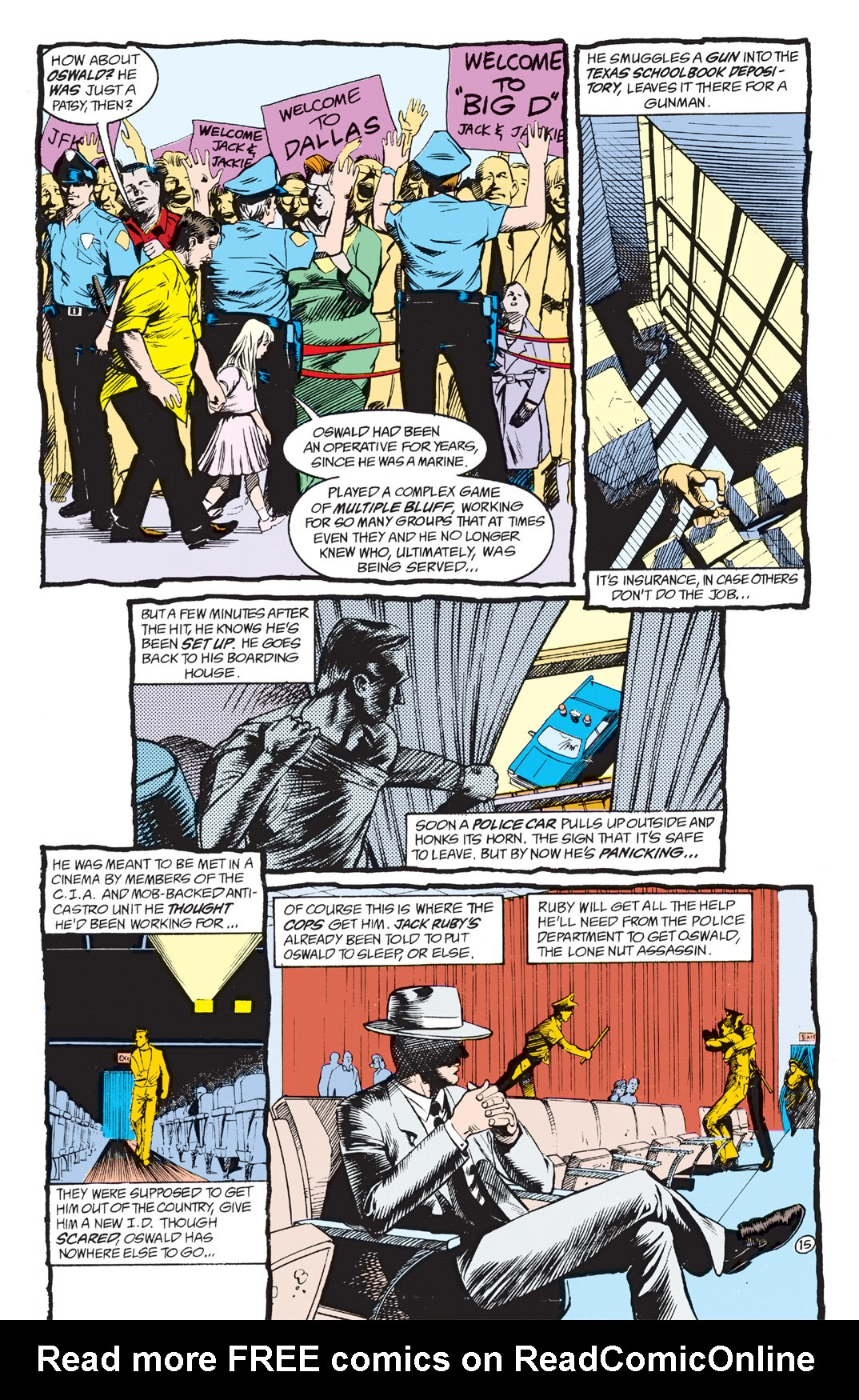 Read online Shade, the Changing Man comic -  Issue #3 - 17