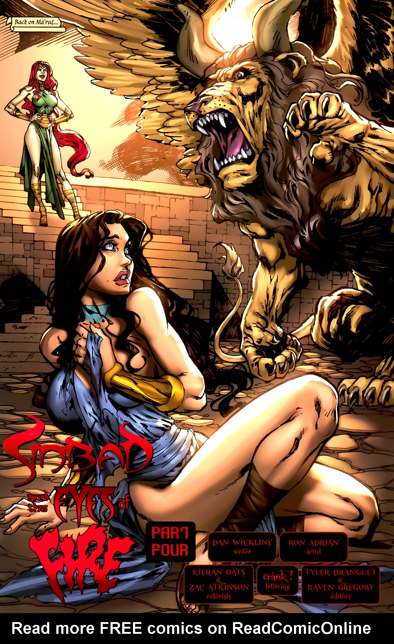 Read online 1001 Arabian Nights: The Adventures of Sinbad comic -  Issue #4 - 8