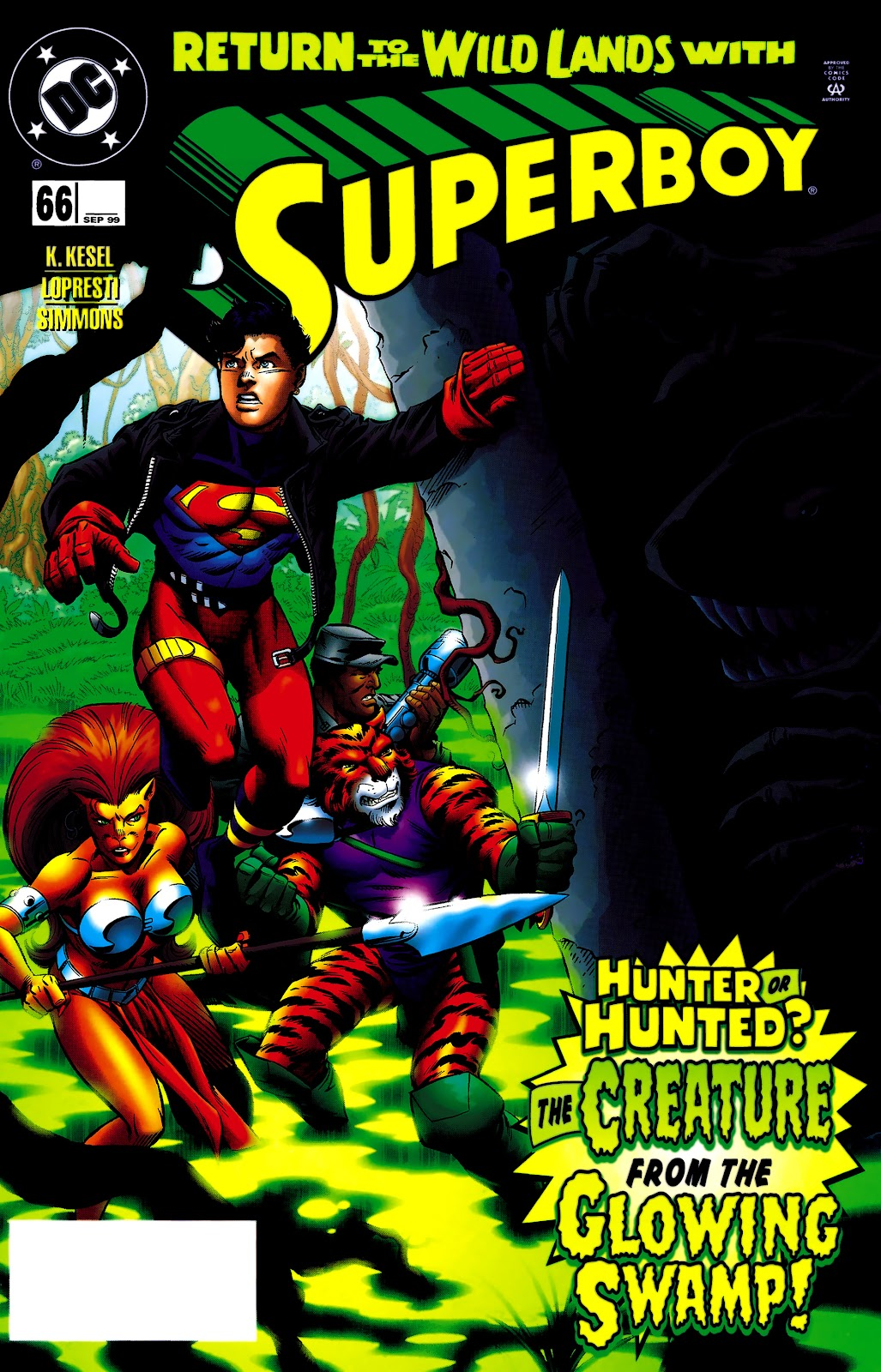Superboy (1994) 66 Page 1
