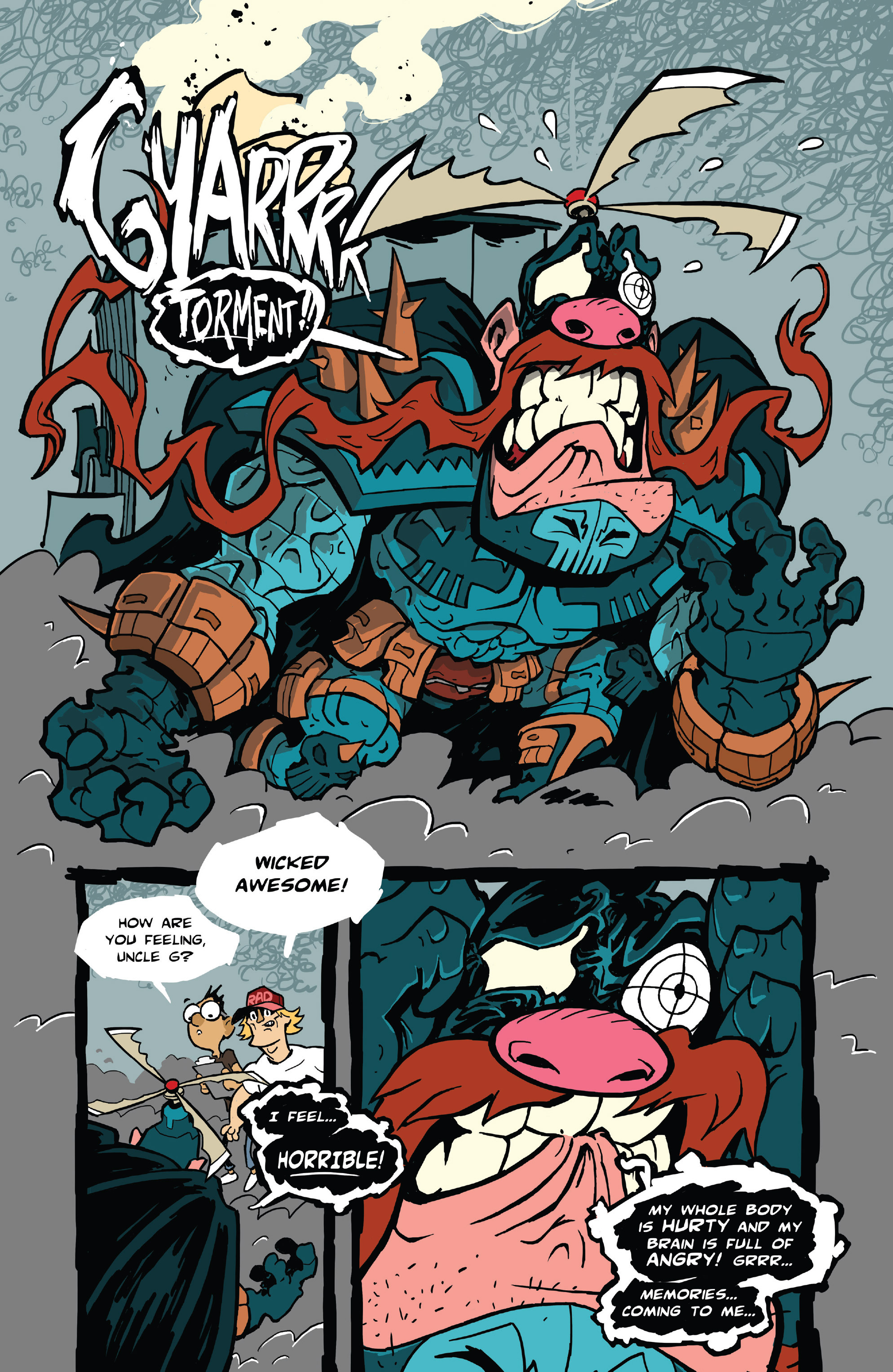 Read online Uncle Grandpa comic -  Issue #4 - 19