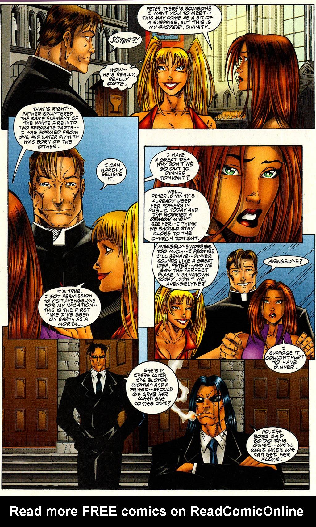 Read online Avengelyne (1996) comic -  Issue #6 - 13