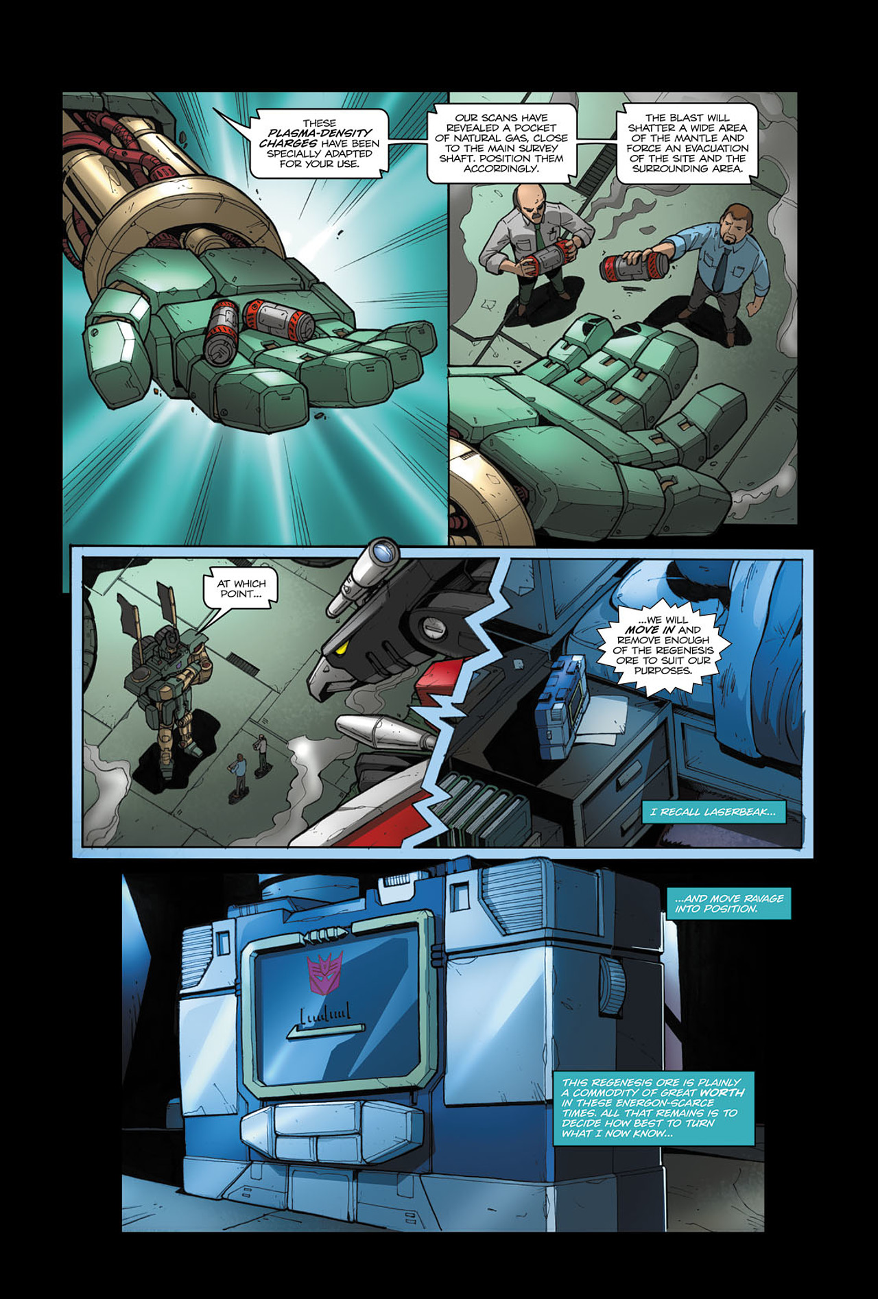 Read online Transformers Spotlight: Soundwave comic -  Issue # Full - 12