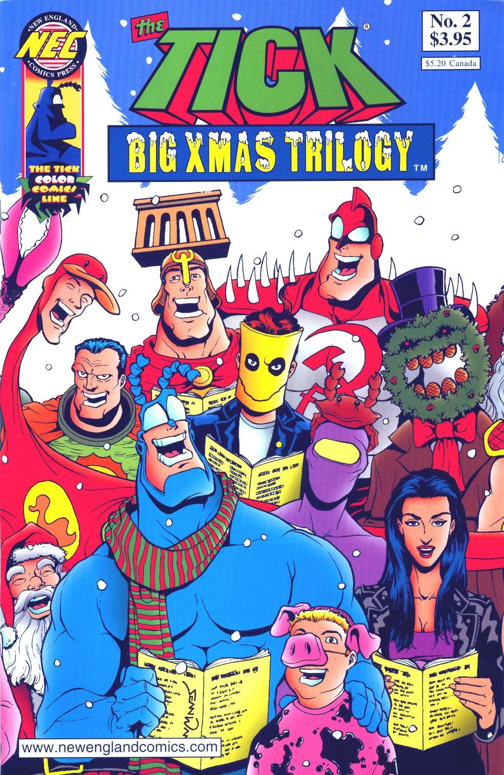 The Ticks Big Xmas Trilogy 2 Page 1