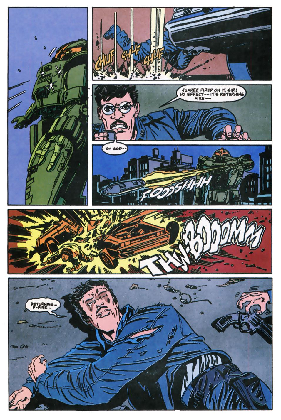 Read online Robocop (1990) comic -  Issue #11 - 11