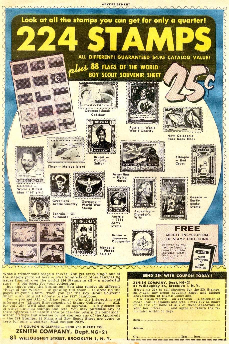 Read online Adventure Comics (1938) comic -  Issue #248 - 33