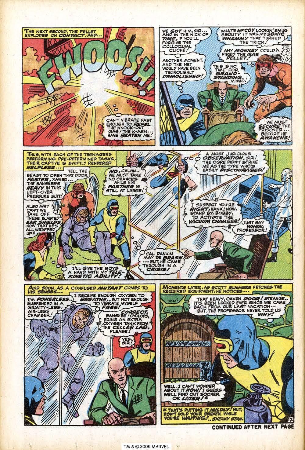 Uncanny X-Men (1963) 76 Page 23