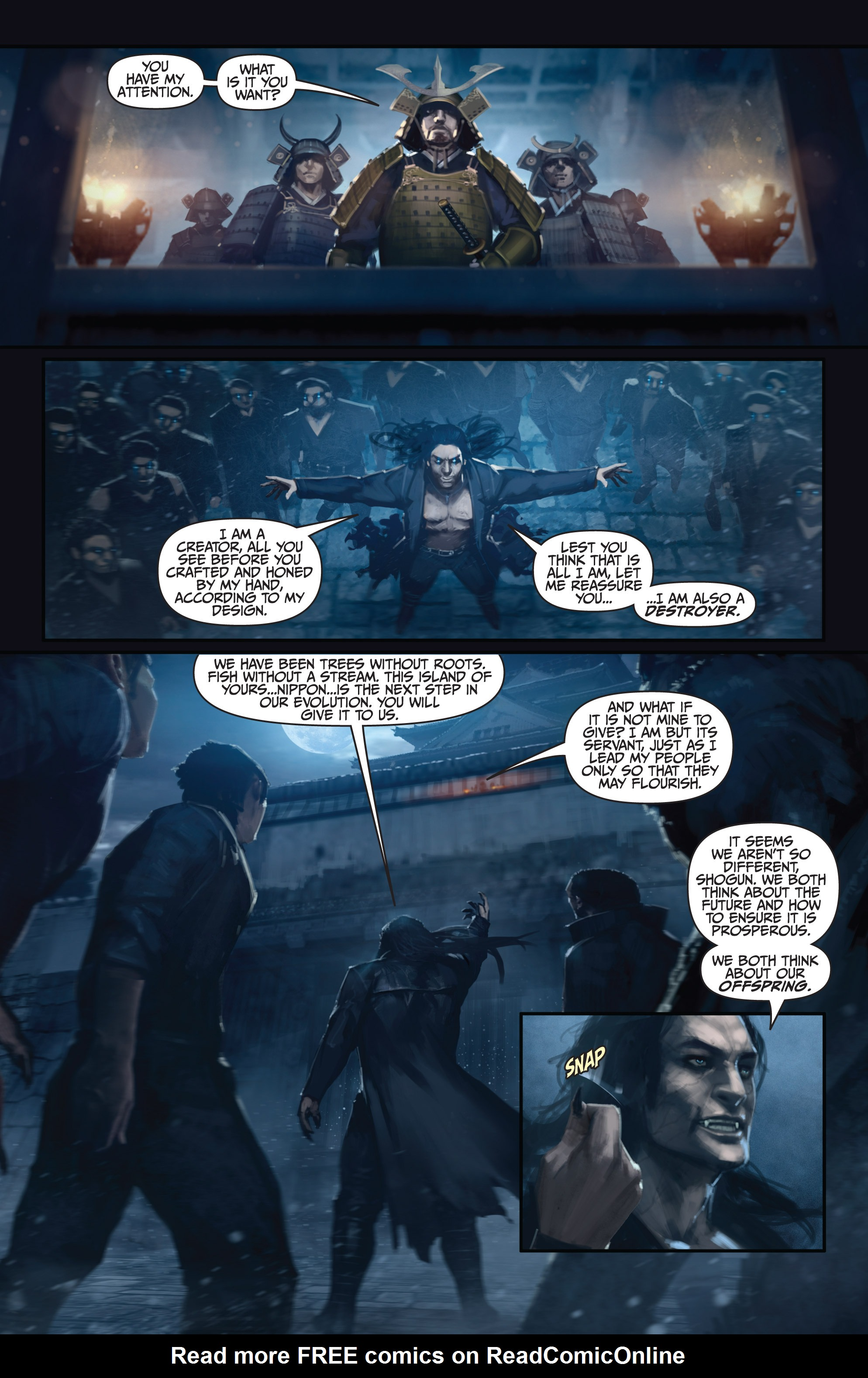 Read online Bushido: The Way of the Warrior comic -  Issue #5 - 6