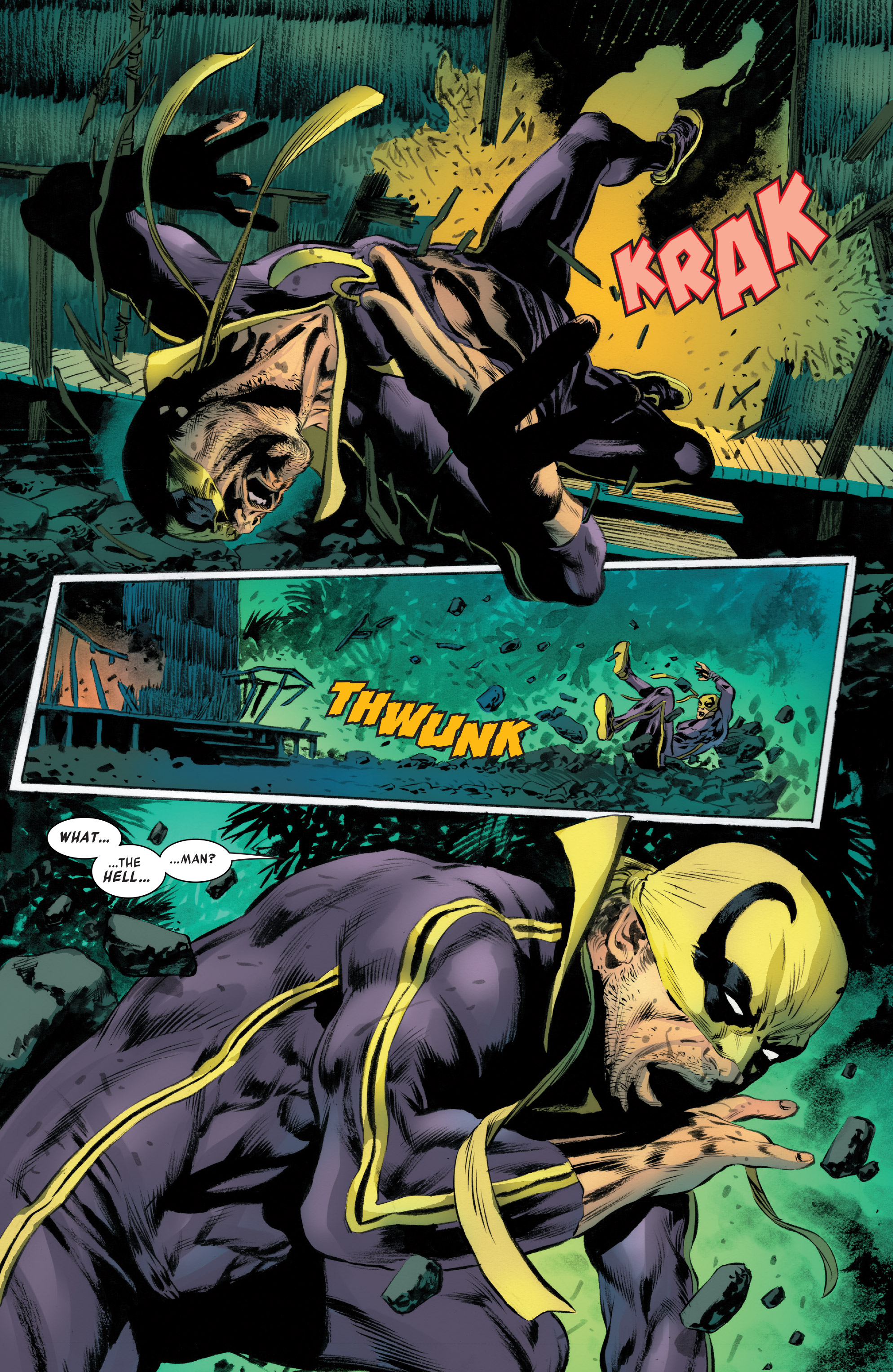 Read online Iron Fist (2017) comic -  Issue #4 - 12