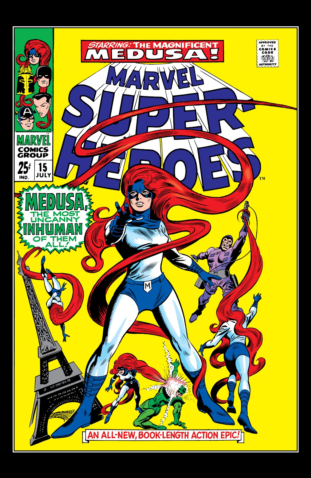 Read online Marvel Masterworks: The Inhumans comic -  Issue # TPB 1 (Part 1) - 43