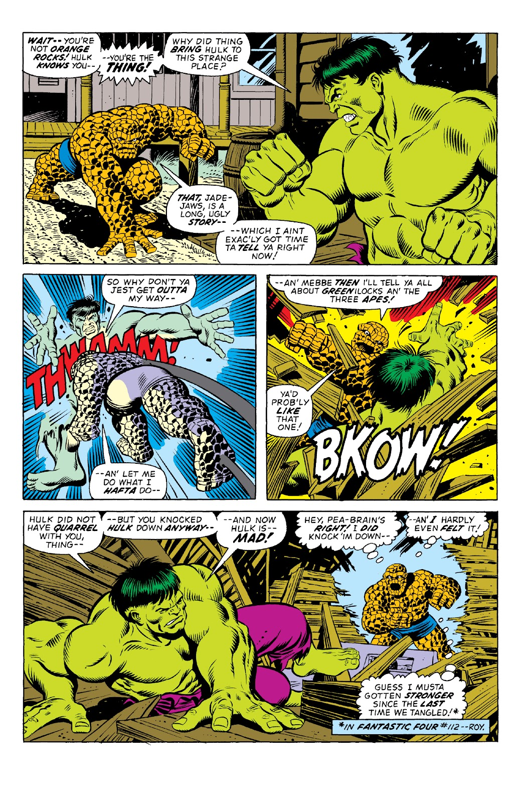 Read online Marvel Two-In-One Epic Collection: Cry Monster comic -  Issue # TPB (Part 1) - 16