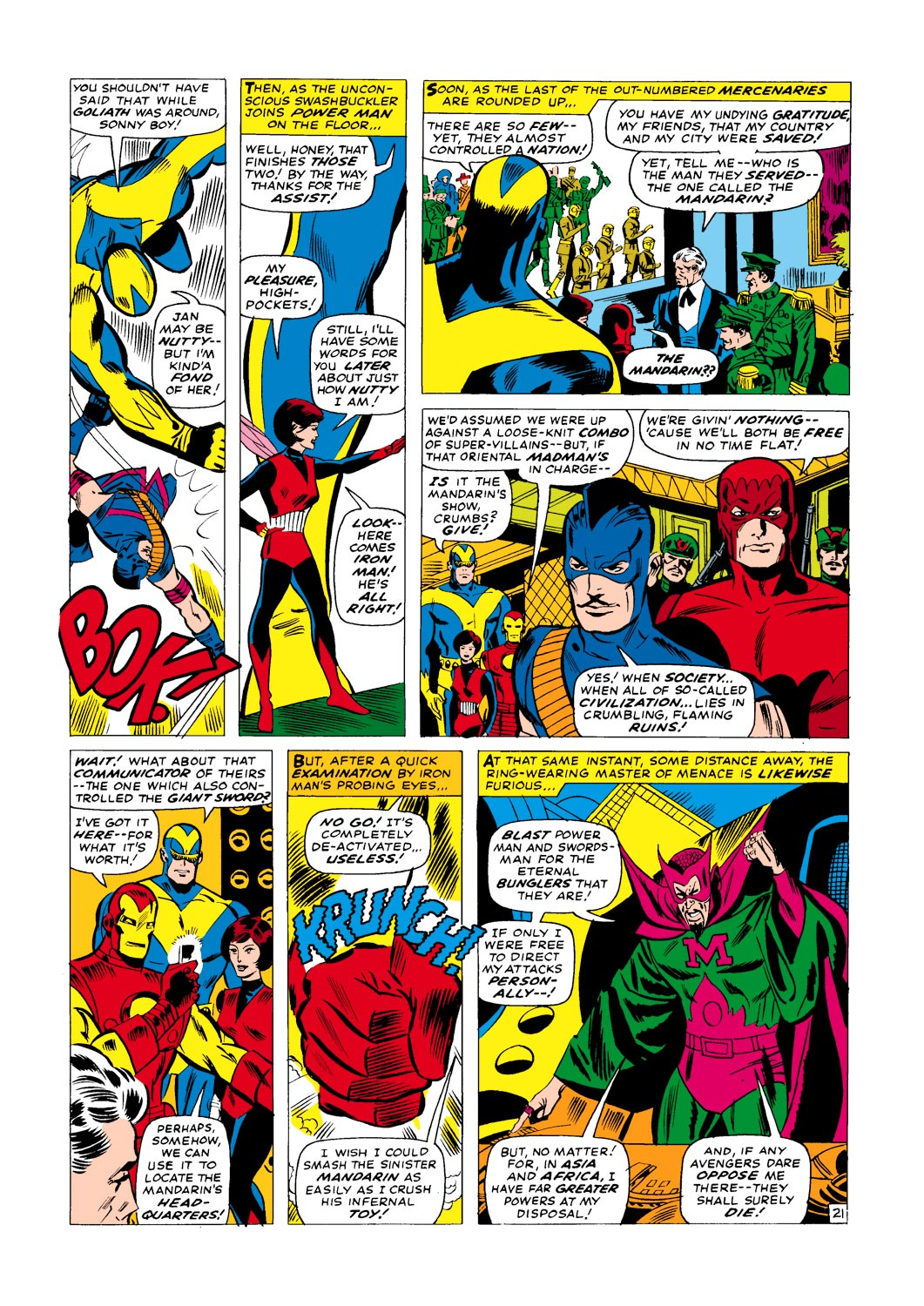 The Avengers (1963) _Annual_1 Page 21