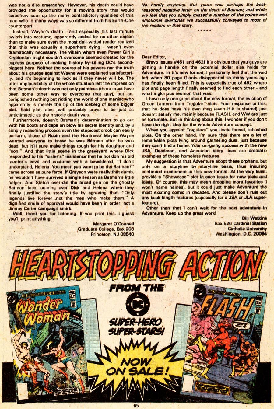 Read online Adventure Comics (1938) comic -  Issue #465 - 66