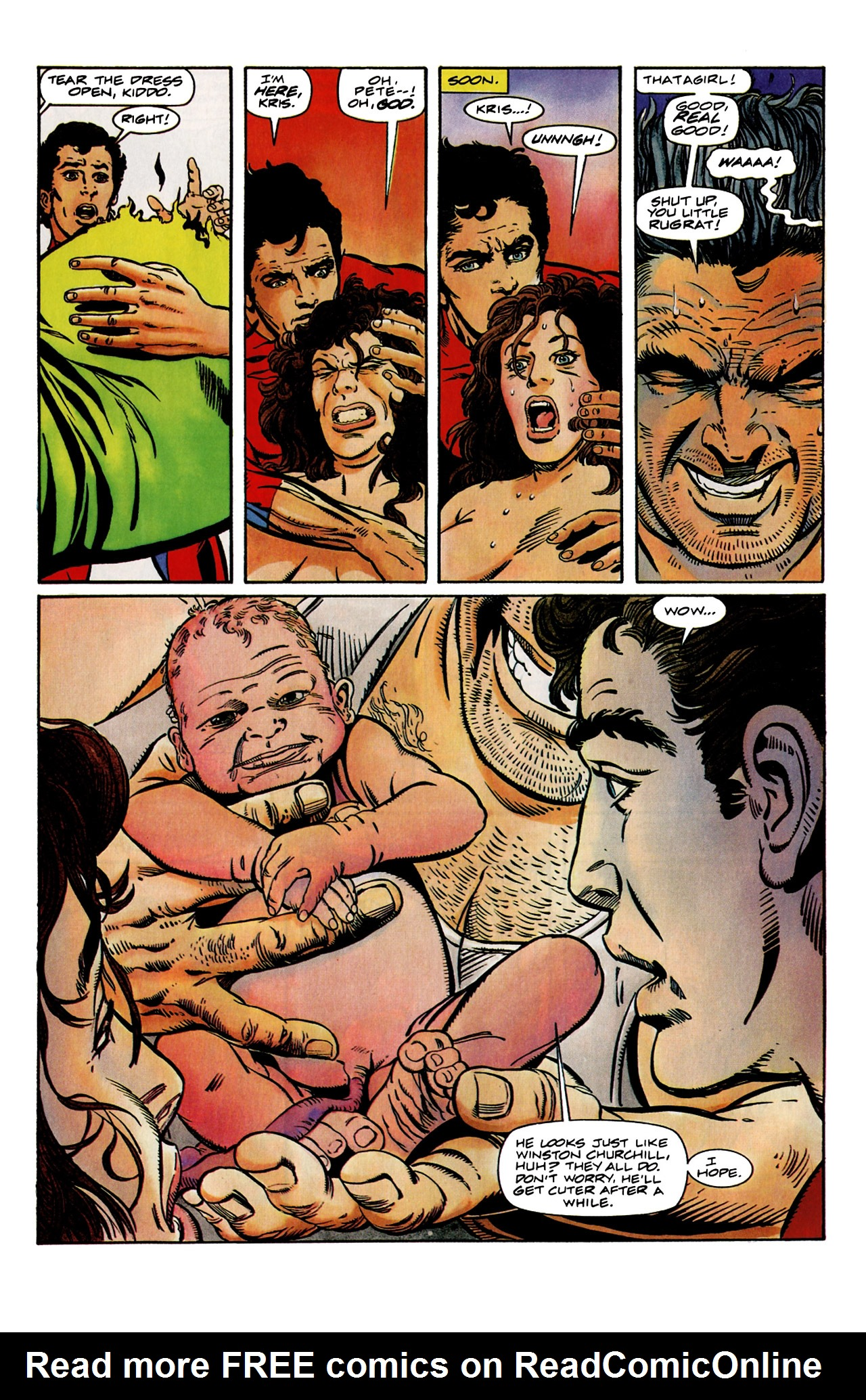 Read online Harbinger (1992) comic -  Issue #9 - 5