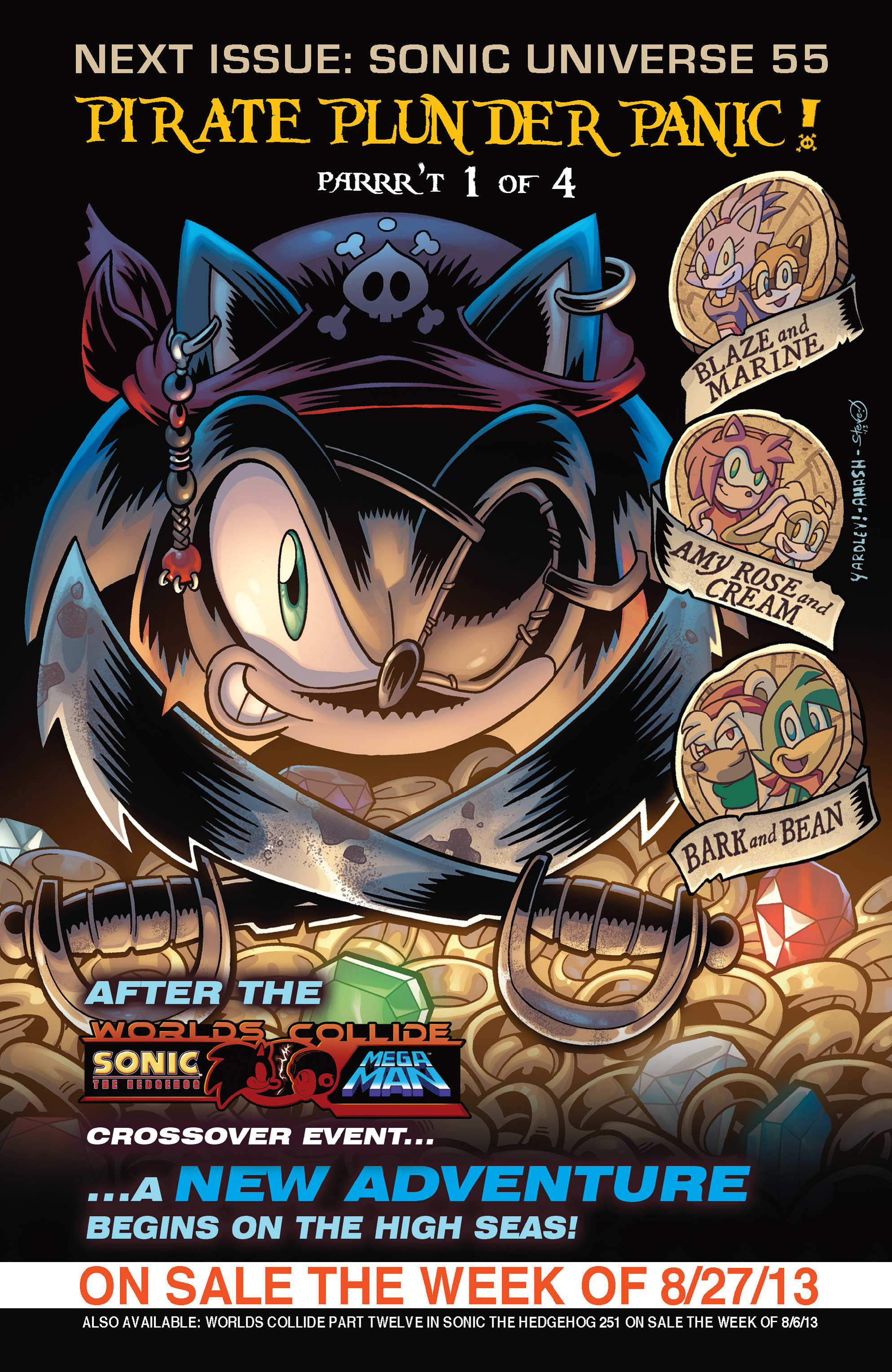 Read online Sonic Mega Man Worlds Collide comic -  Issue # Vol 3 - 93