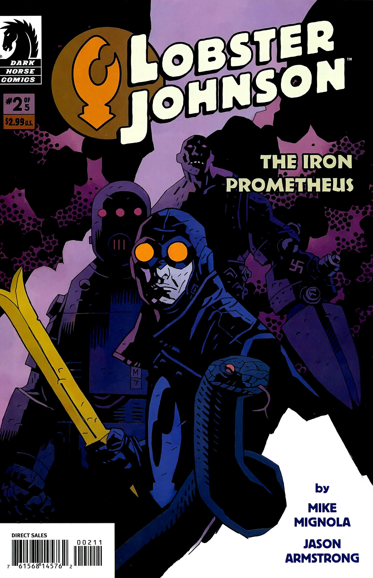 Read online Lobster Johnson: The Iron Prometheus comic -  Issue #2 - 1