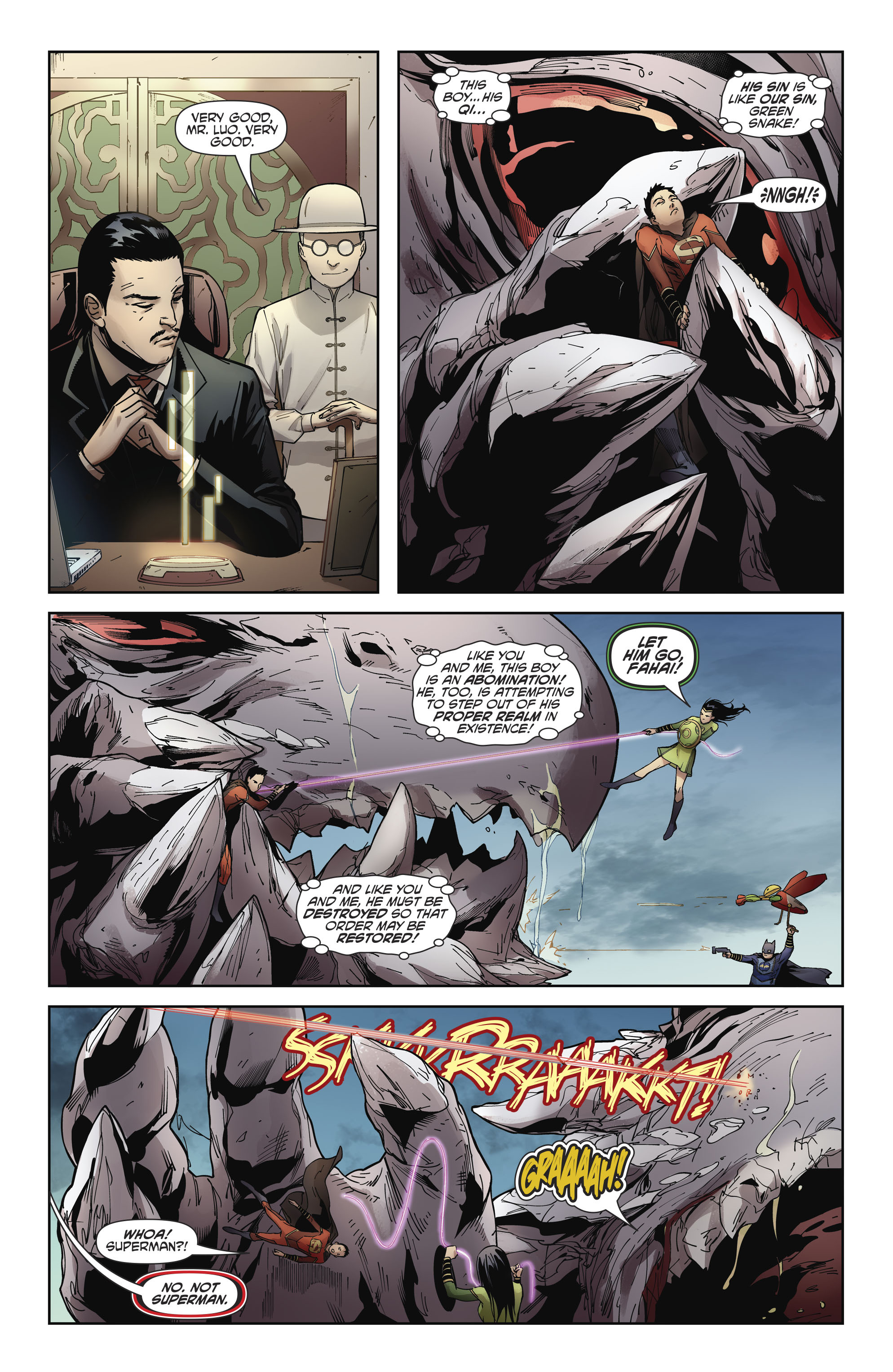 Read online New Super-Man comic -  Issue #11 - 21