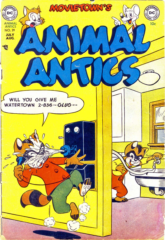 Read online Animal Antics comic -  Issue #39 - 1