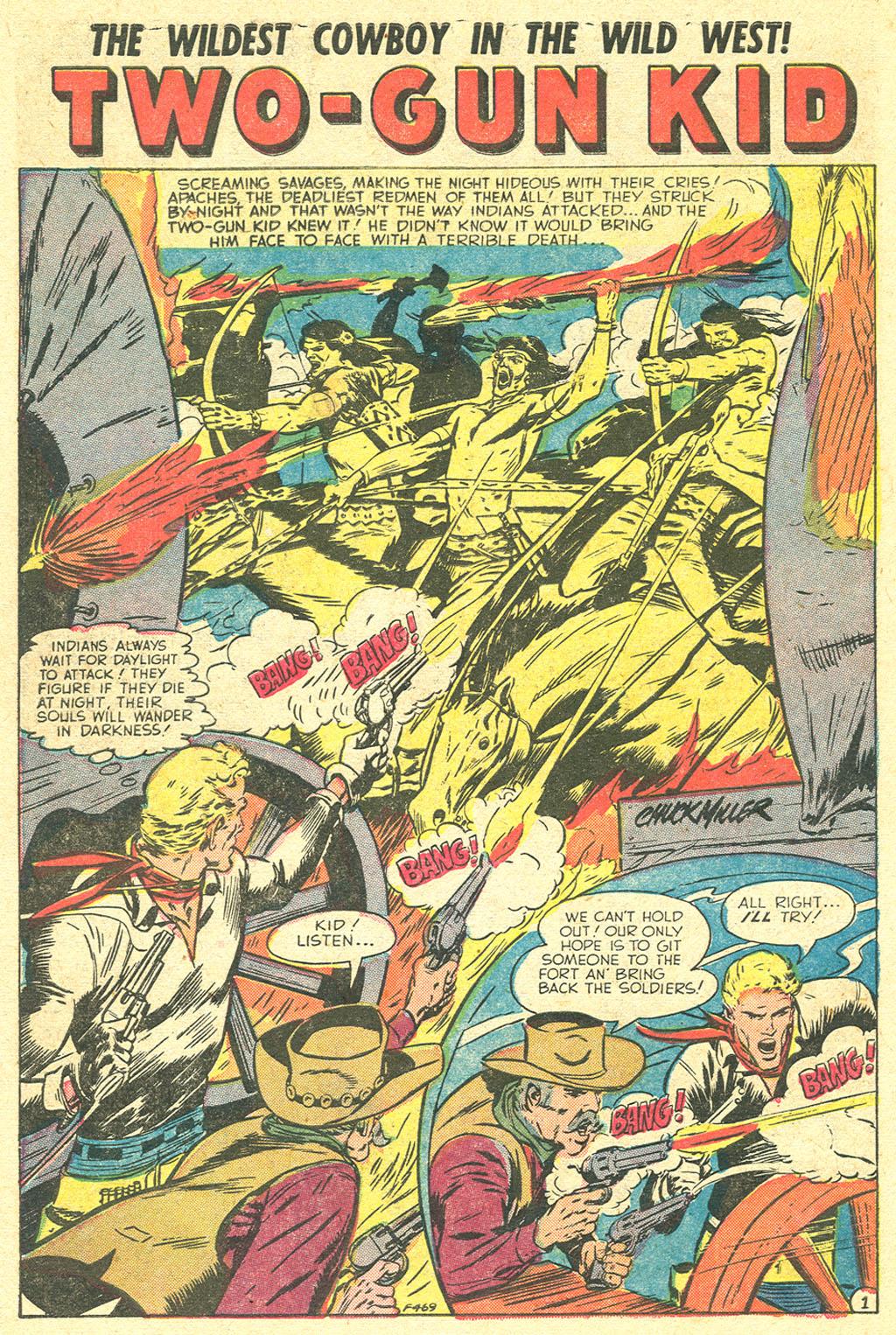 Read online Two-Gun Kid comic -  Issue #21 - 10
