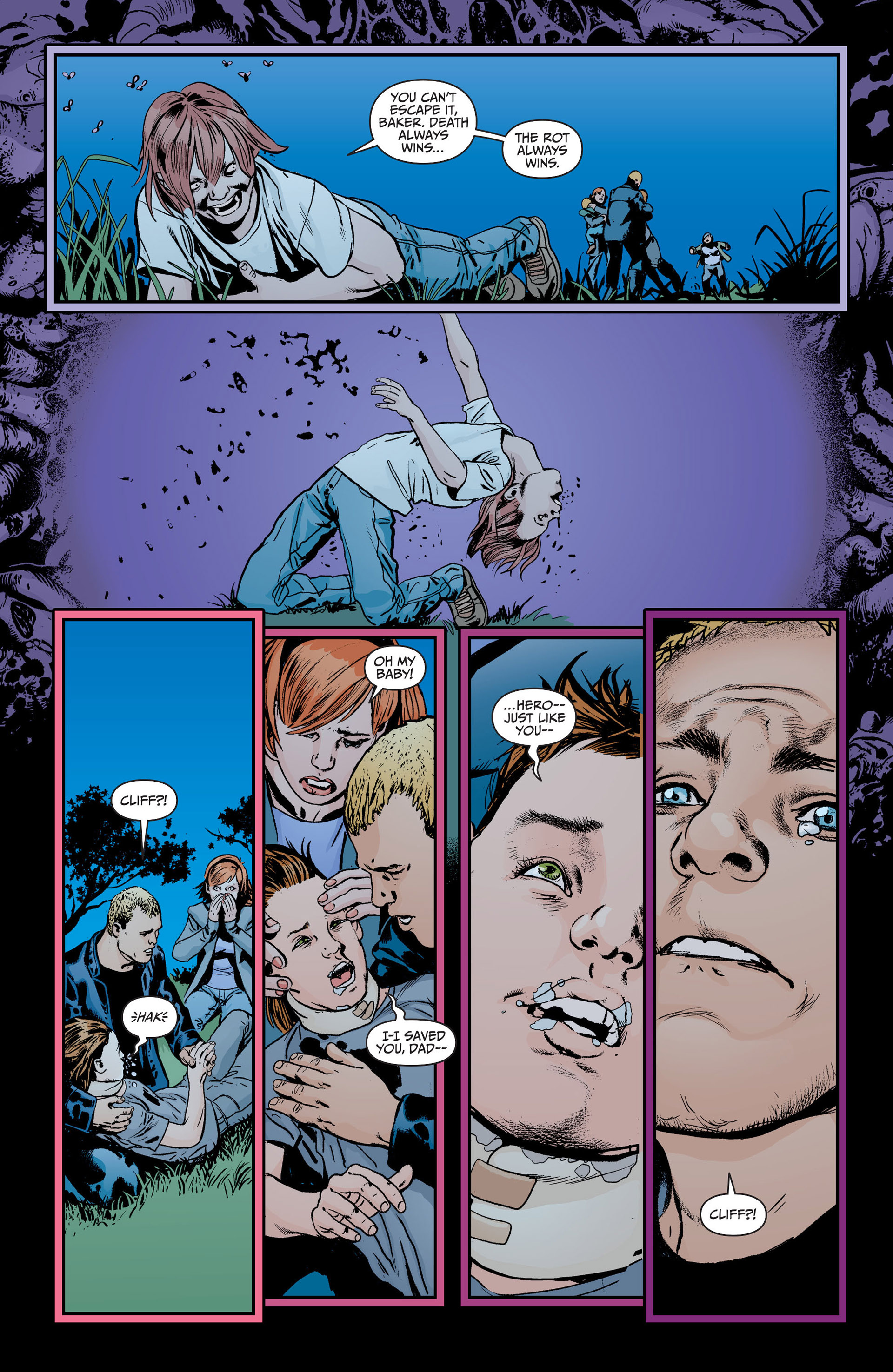 Read online Animal Man (2011) comic -  Issue #18 - 19