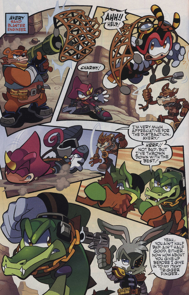 Read online Sonic Universe comic -  Issue #48 - 6
