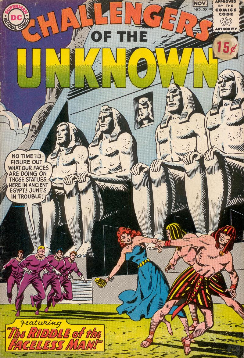 Challengers of the Unknown (1958) issue 28 - Page 1