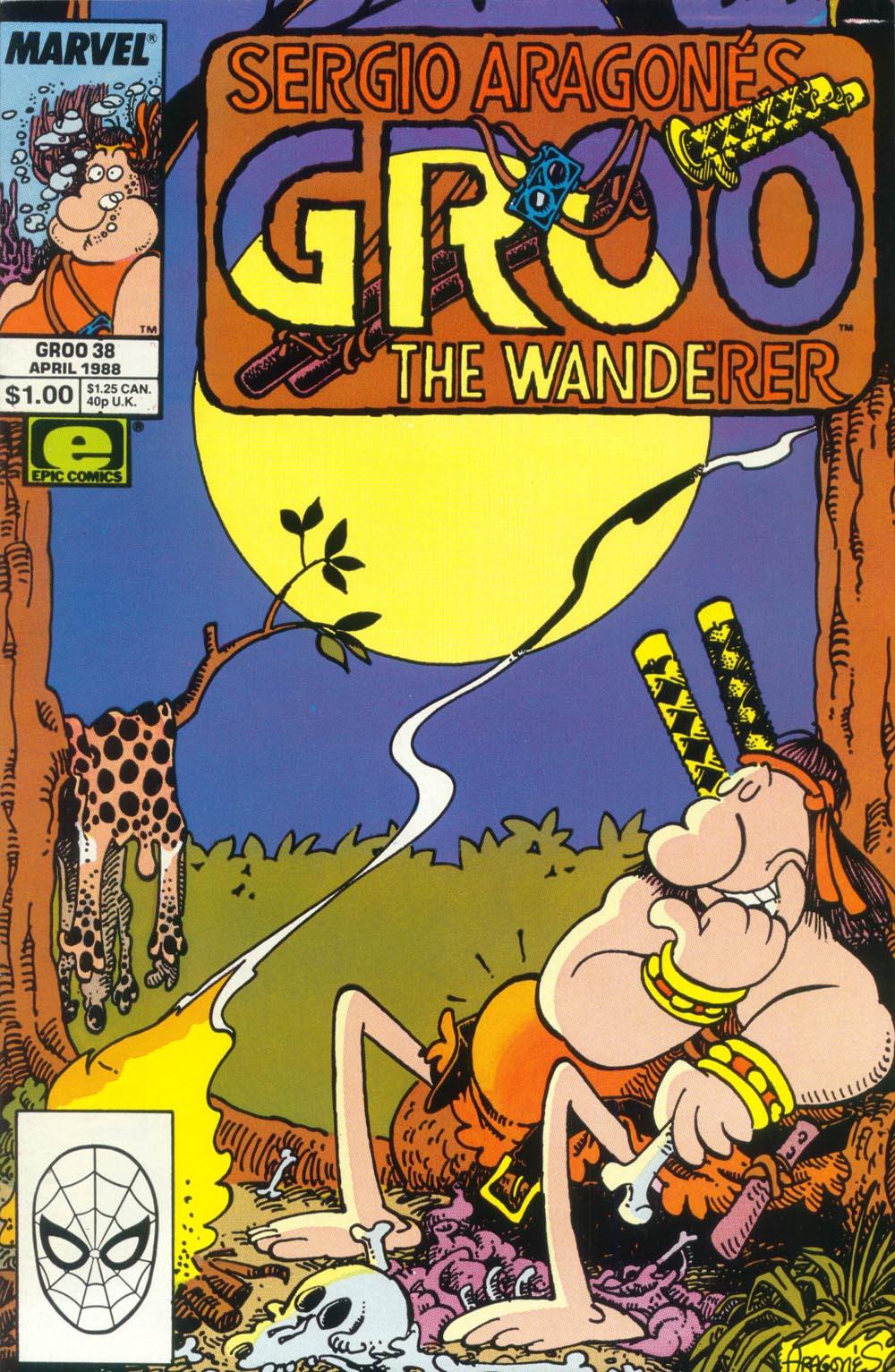 Read online Sergio Aragonés Groo the Wanderer comic -  Issue #38 - 1