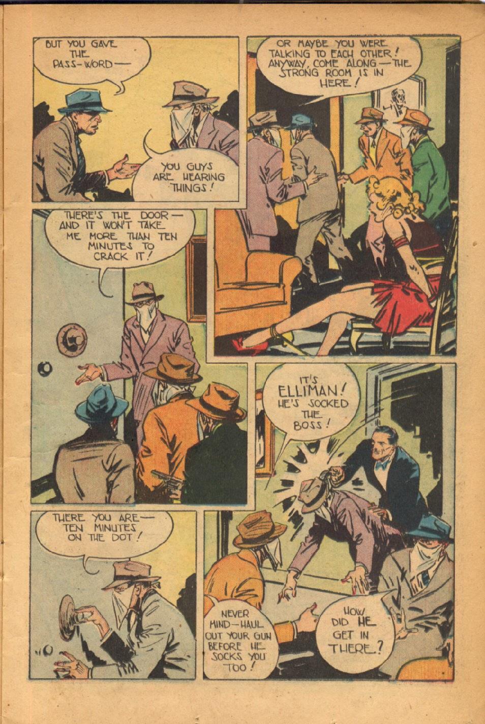 Read online Super-Magician Comics comic -  Issue #54 - 16