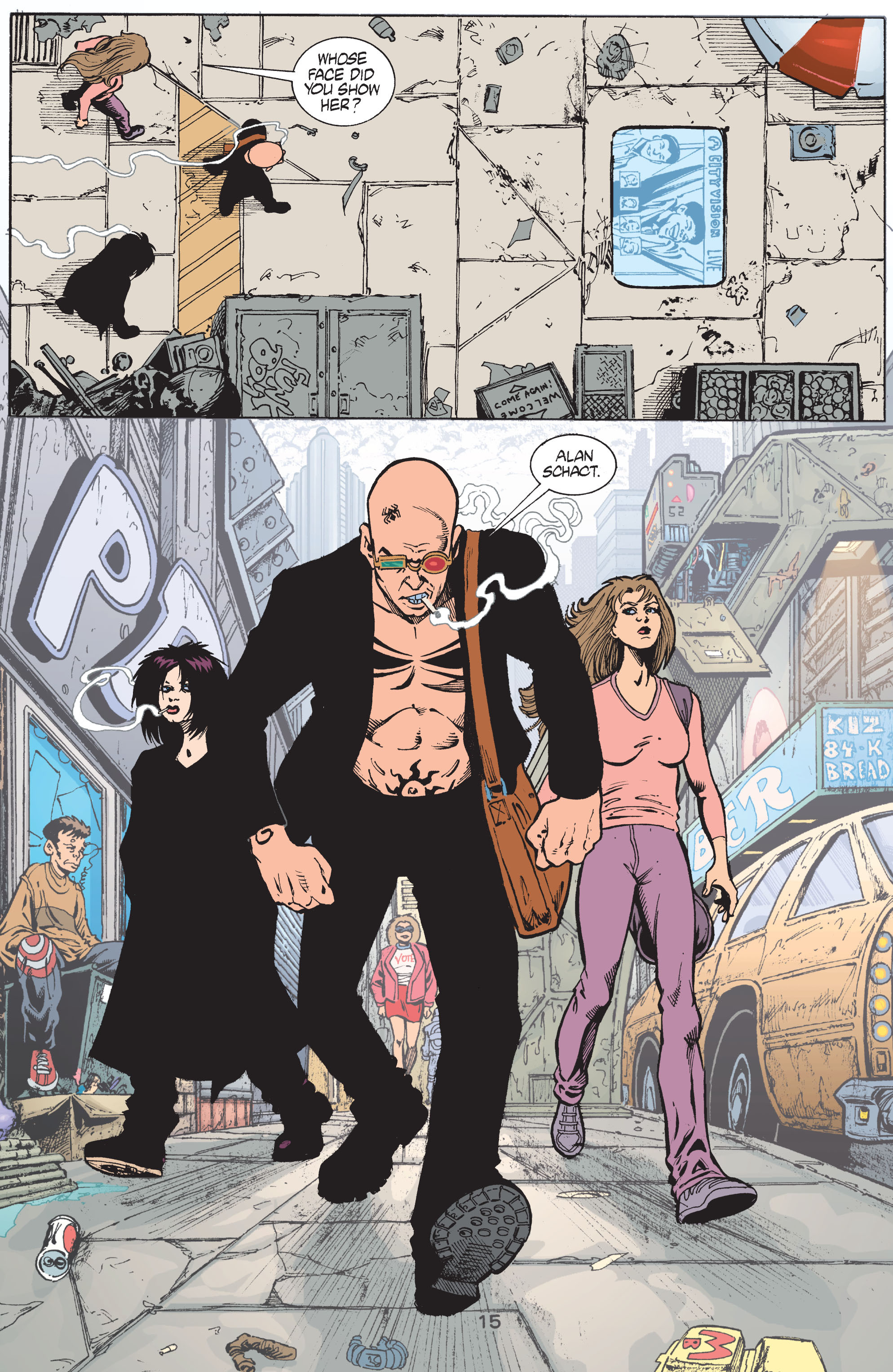 Read online Transmetropolitan comic -  Issue #41 - 16