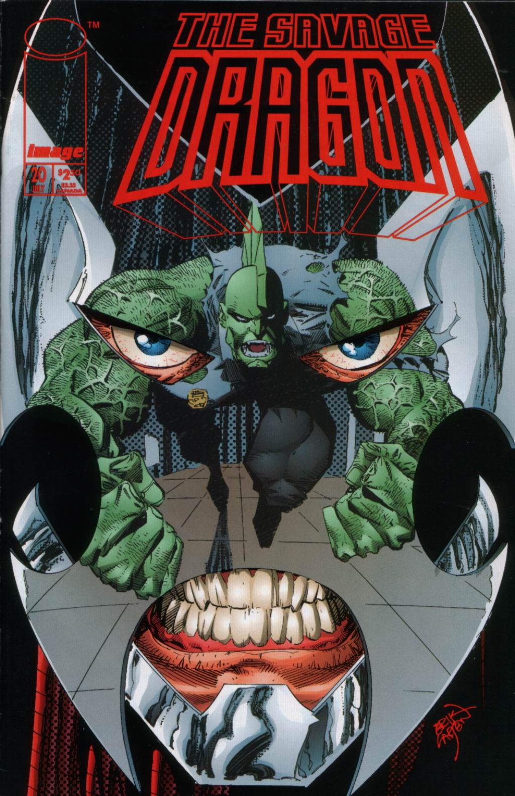 The Savage Dragon (1993) Issue #20 #23 - English 1
