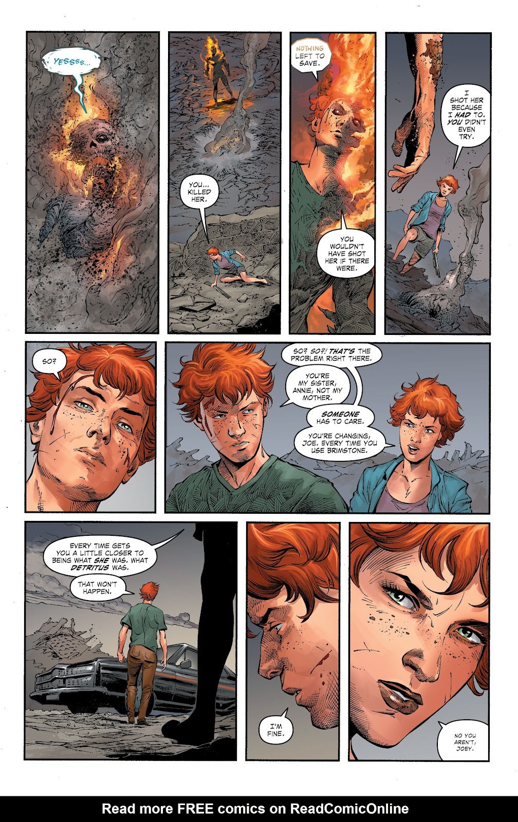 Read online The Curse of Brimstone: Ashes comic -  Issue # TPB (Part 1) - 33