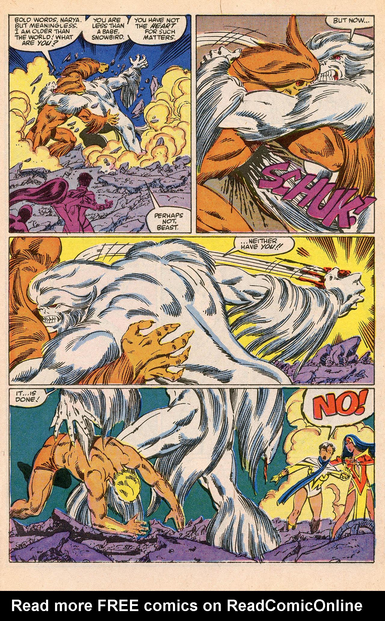 Read online Alpha Flight (1983) comic -  Issue #23 - 31