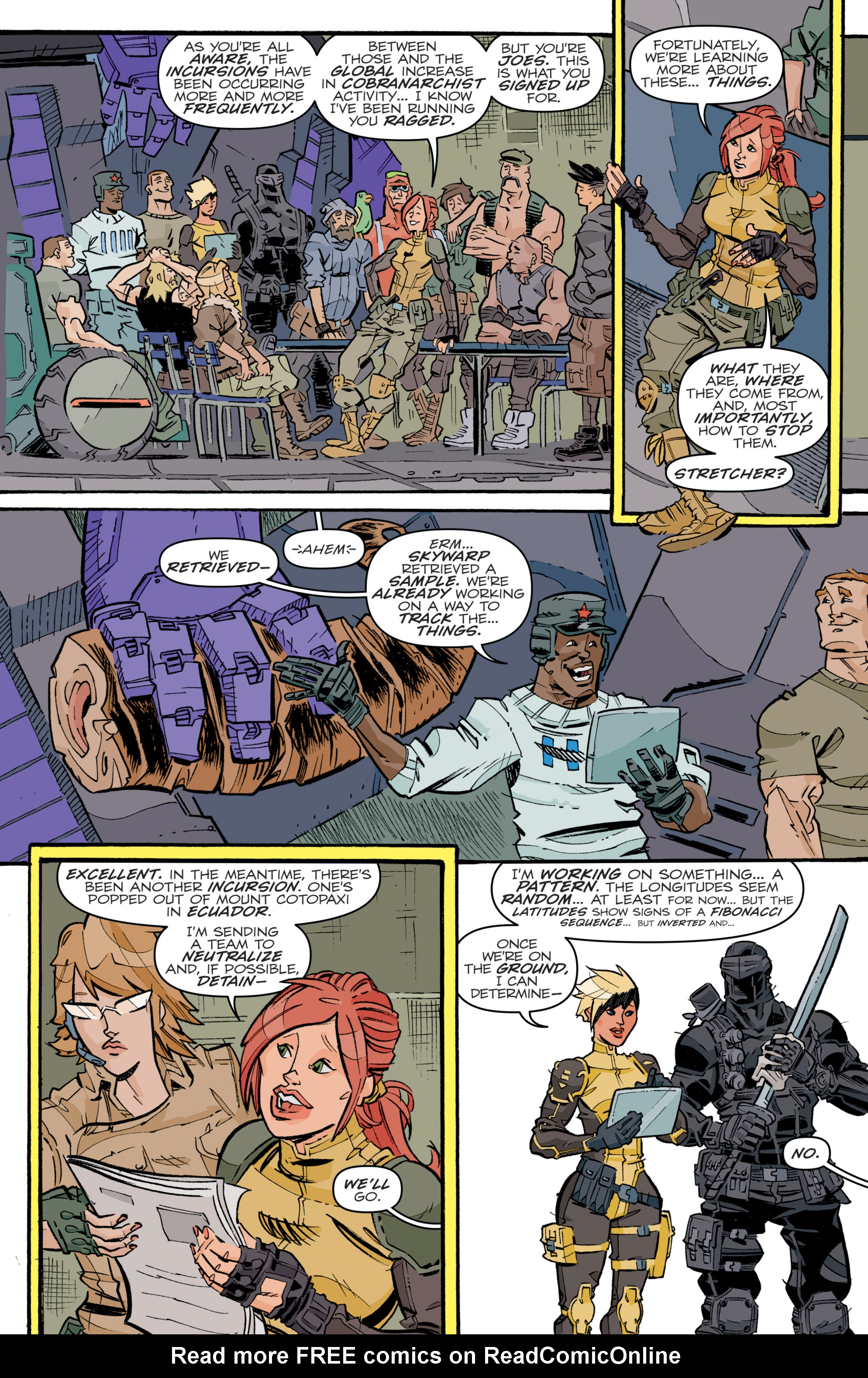 Read online G.I. Joe (2016) comic -  Issue #5 - 12