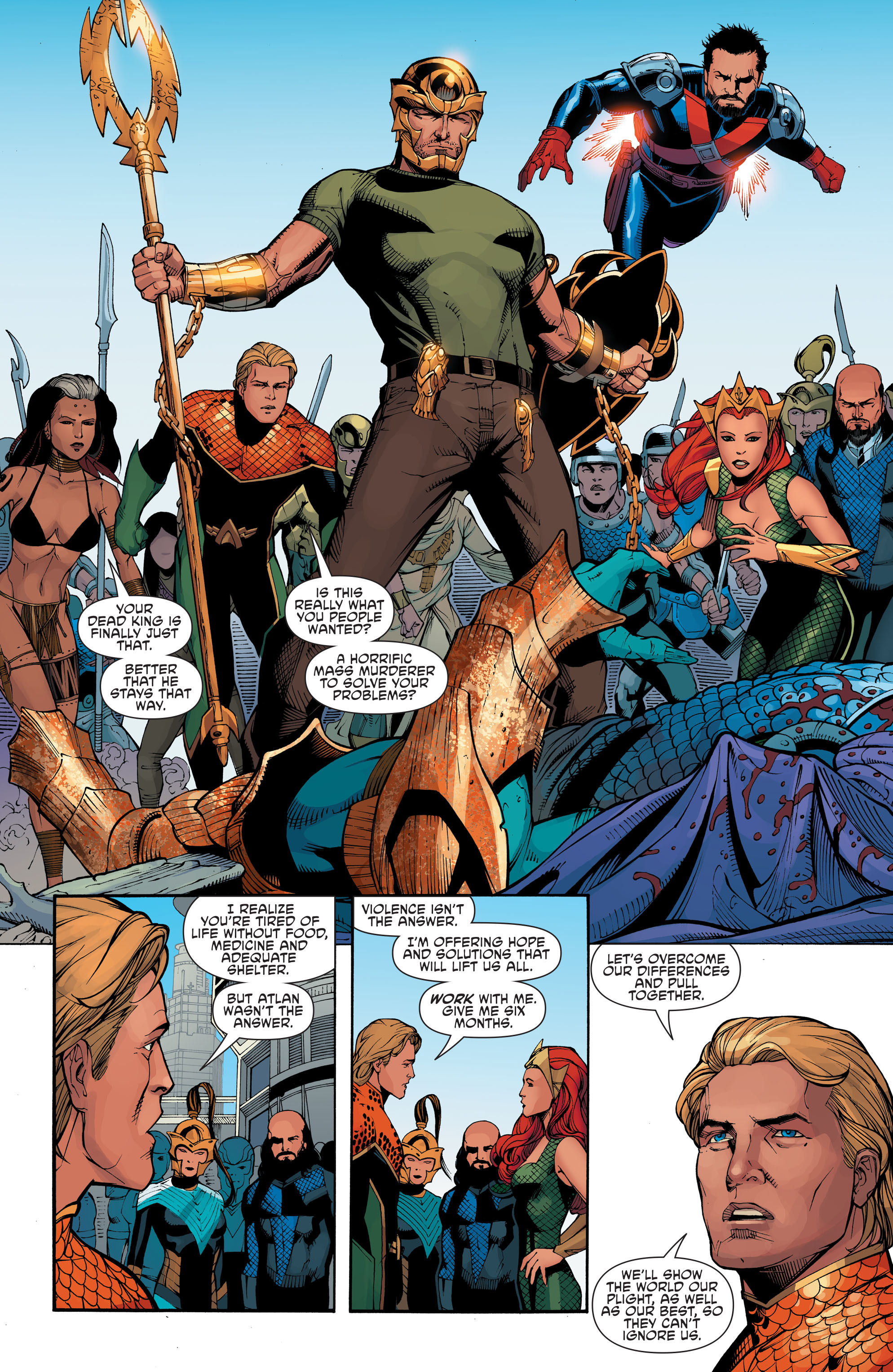 Read online Aquaman and the Others: Futures End comic -  Issue #Aquaman and the Others: Futures End Full - 20