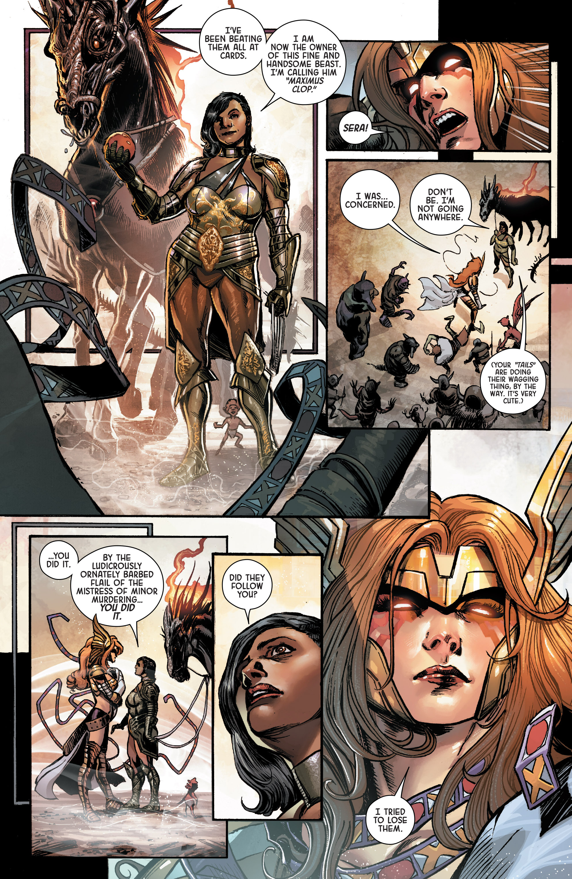 Read online Angela: Asgard's Assassin comic -  Issue #1 - 6