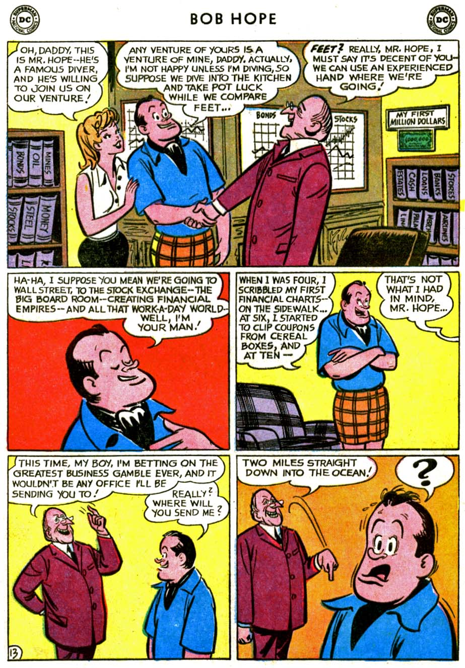 The Adventures of Bob Hope issue 72 - Page 17