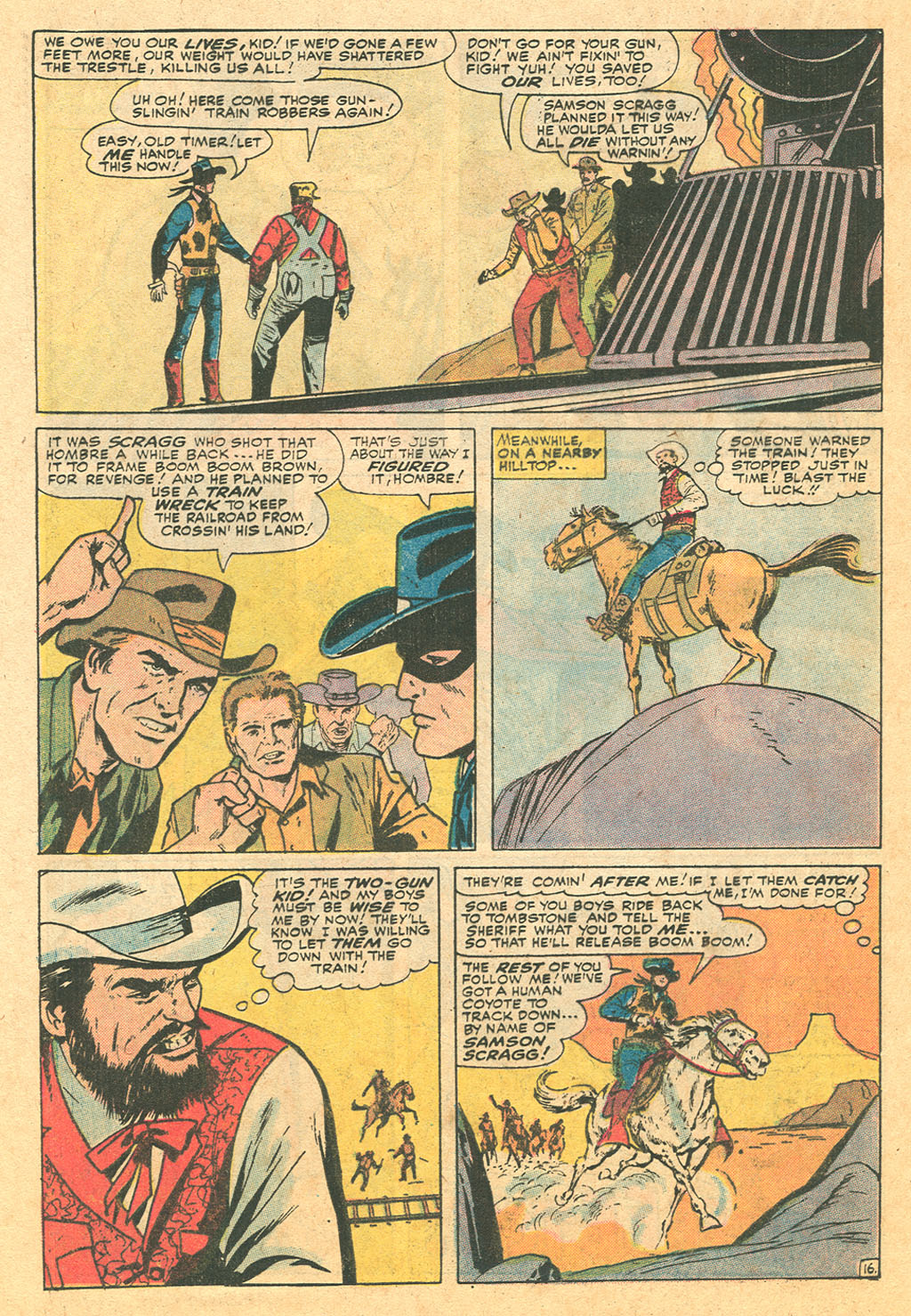 Read online Two-Gun Kid comic -  Issue #110 - 24