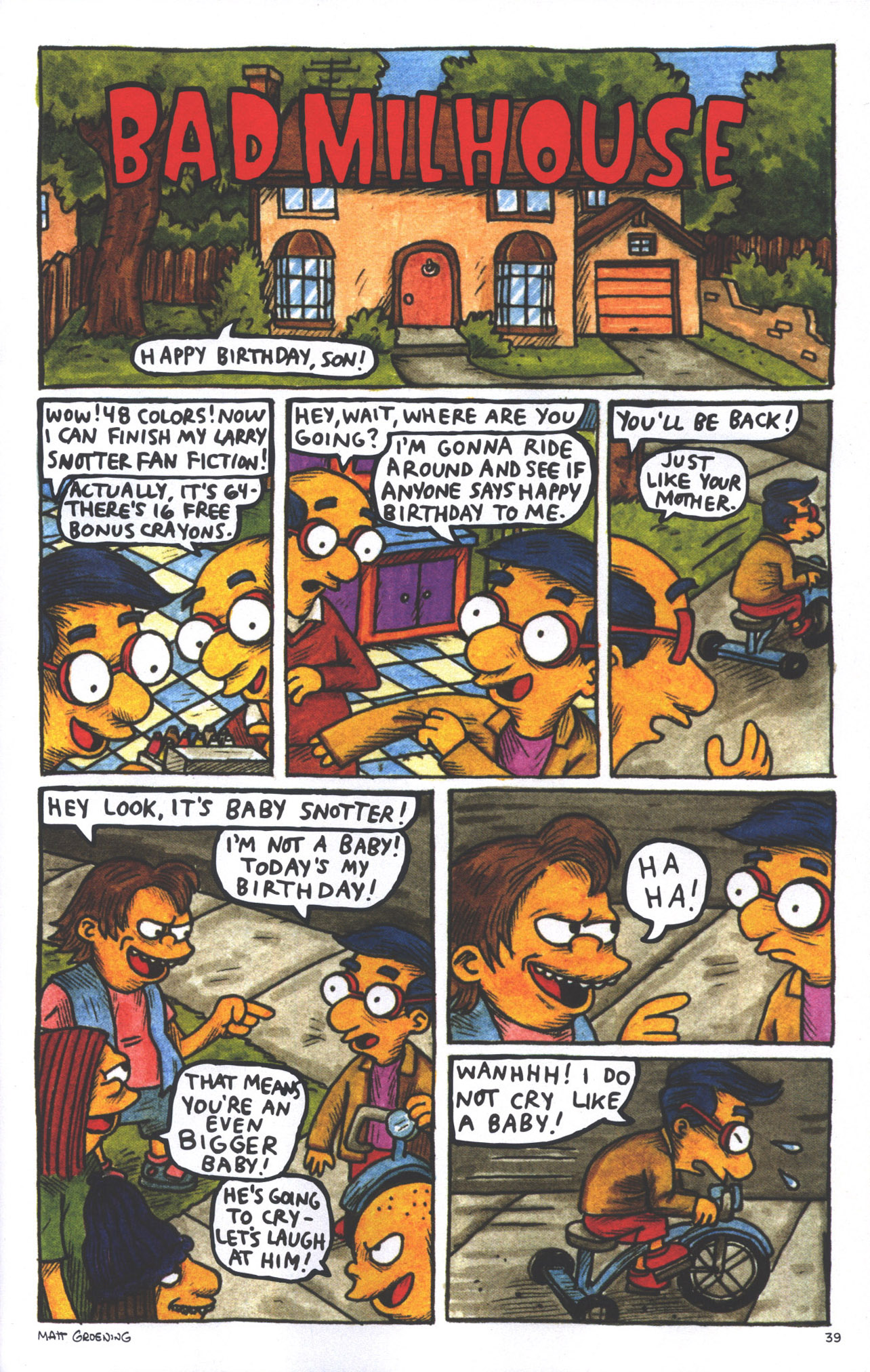 Read online Treehouse of Horror comic -  Issue #15 - 42