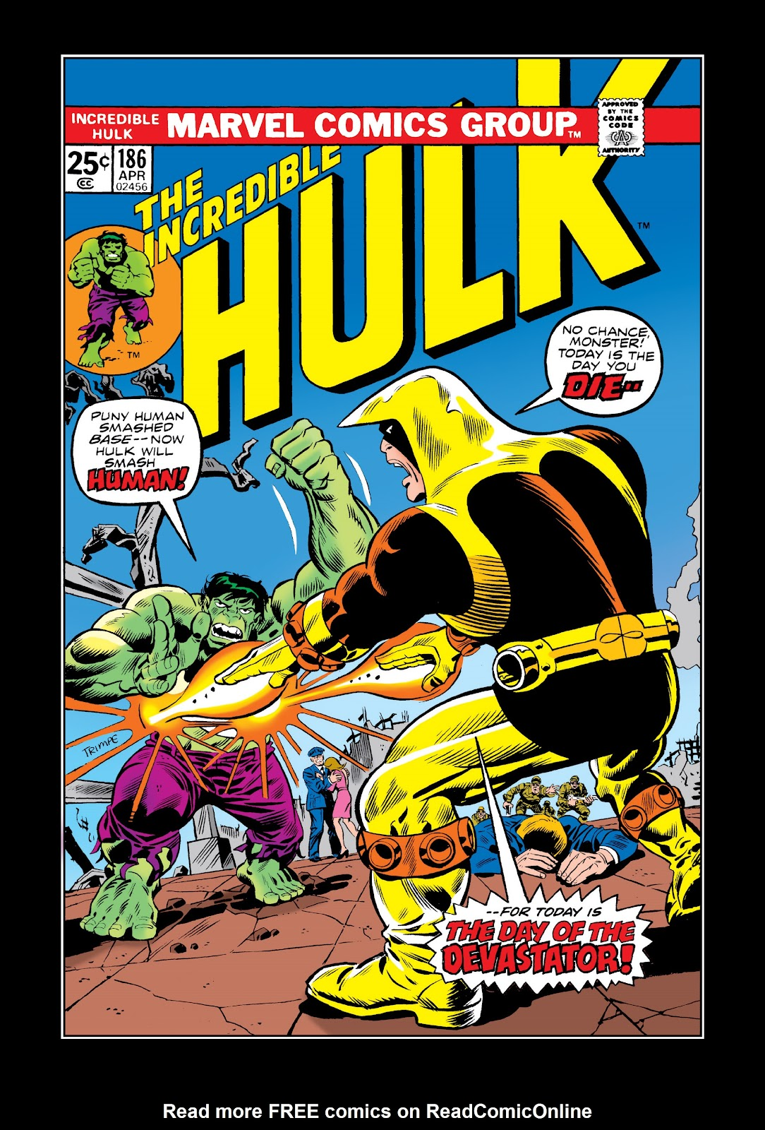 Read online Marvel Masterworks: The Incredible Hulk comic -  Issue # TPB 11 (Part 1) - 44