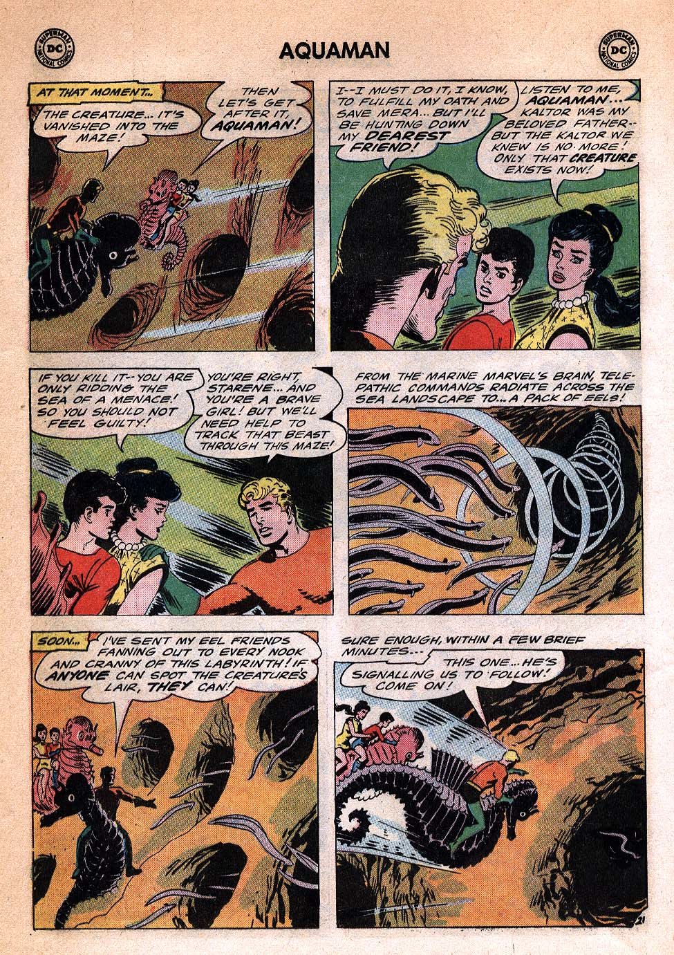 Read online Aquaman (1962) comic -  Issue #20 - 28
