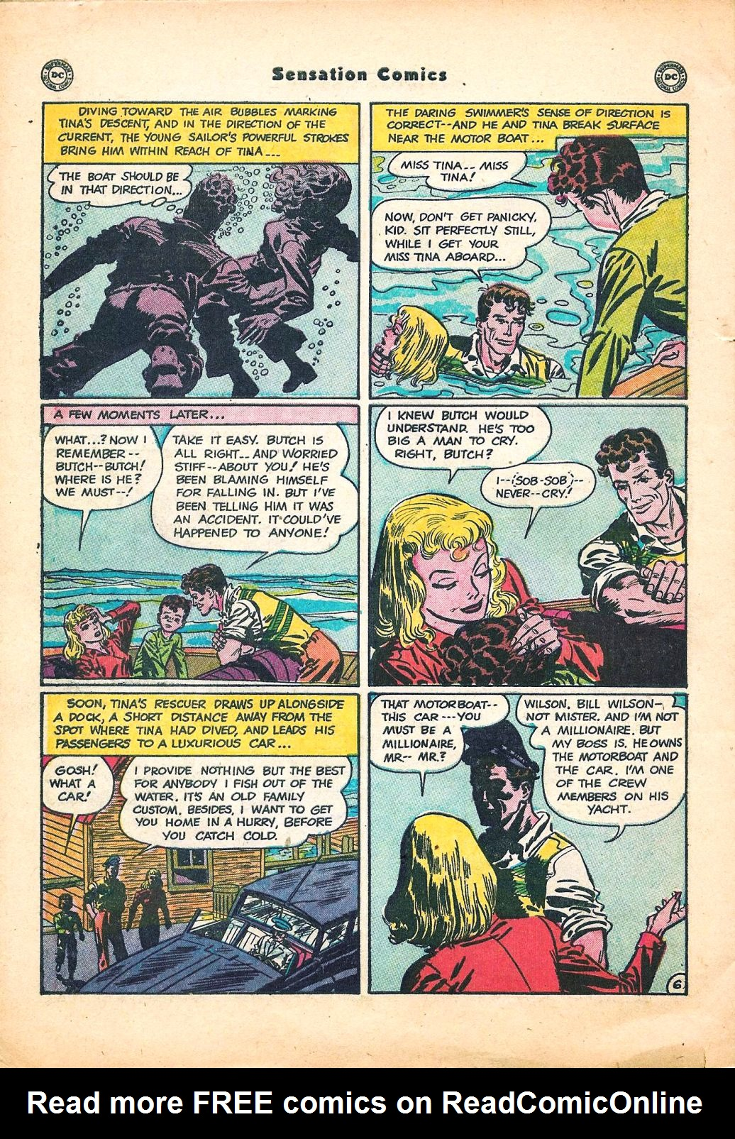 Read online Sensation (Mystery) Comics comic -  Issue #95 - 42