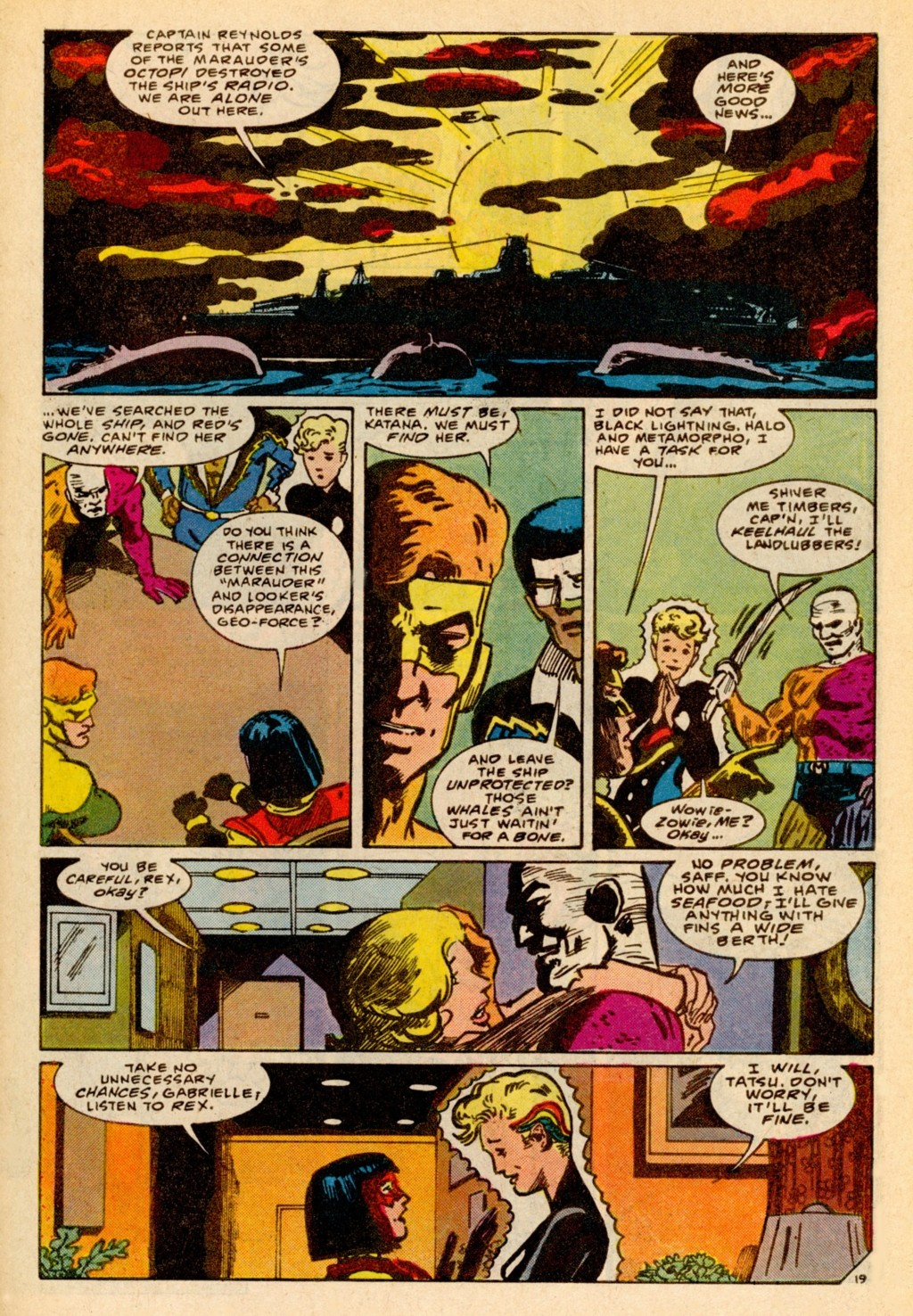 Read online Adventures of the Outsiders comic -  Issue #37 - 20